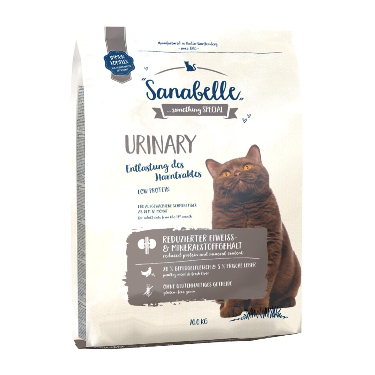 Сухой корм Sanabelle Urinary для Кошек для профилактики болезней мочевыделительной системы 10кг