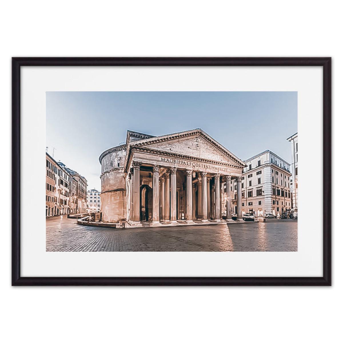 Постер Дом Корлеоне Пантеон Рим 07-0222-30х40 30х40 см