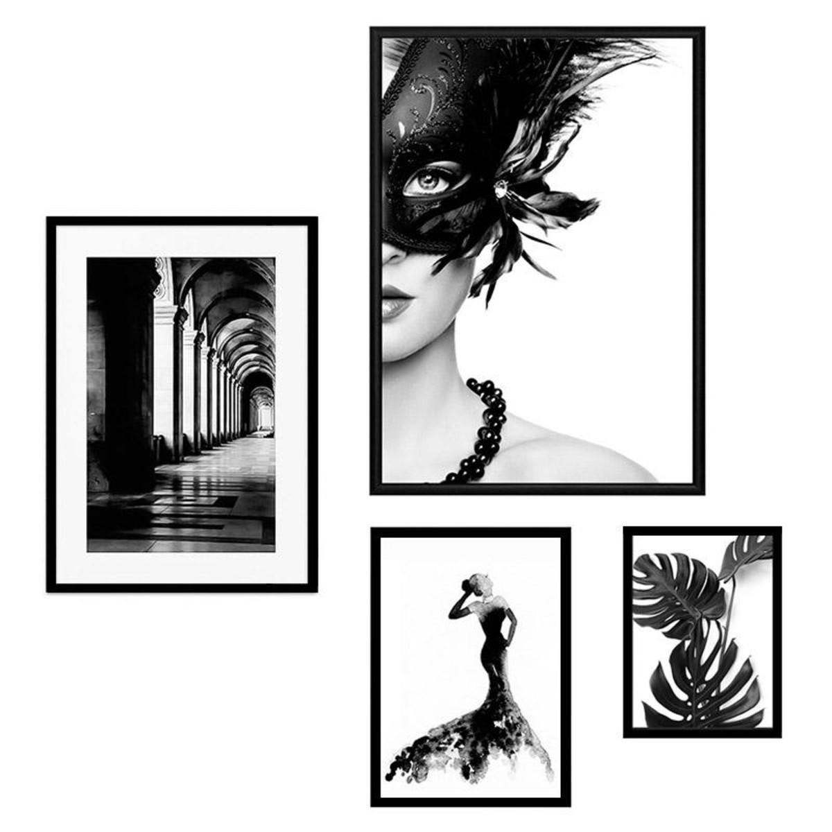 Набор постеров Дом Корлеоне Коллаж Fashion №100 08-0740-110х120 50х70 см