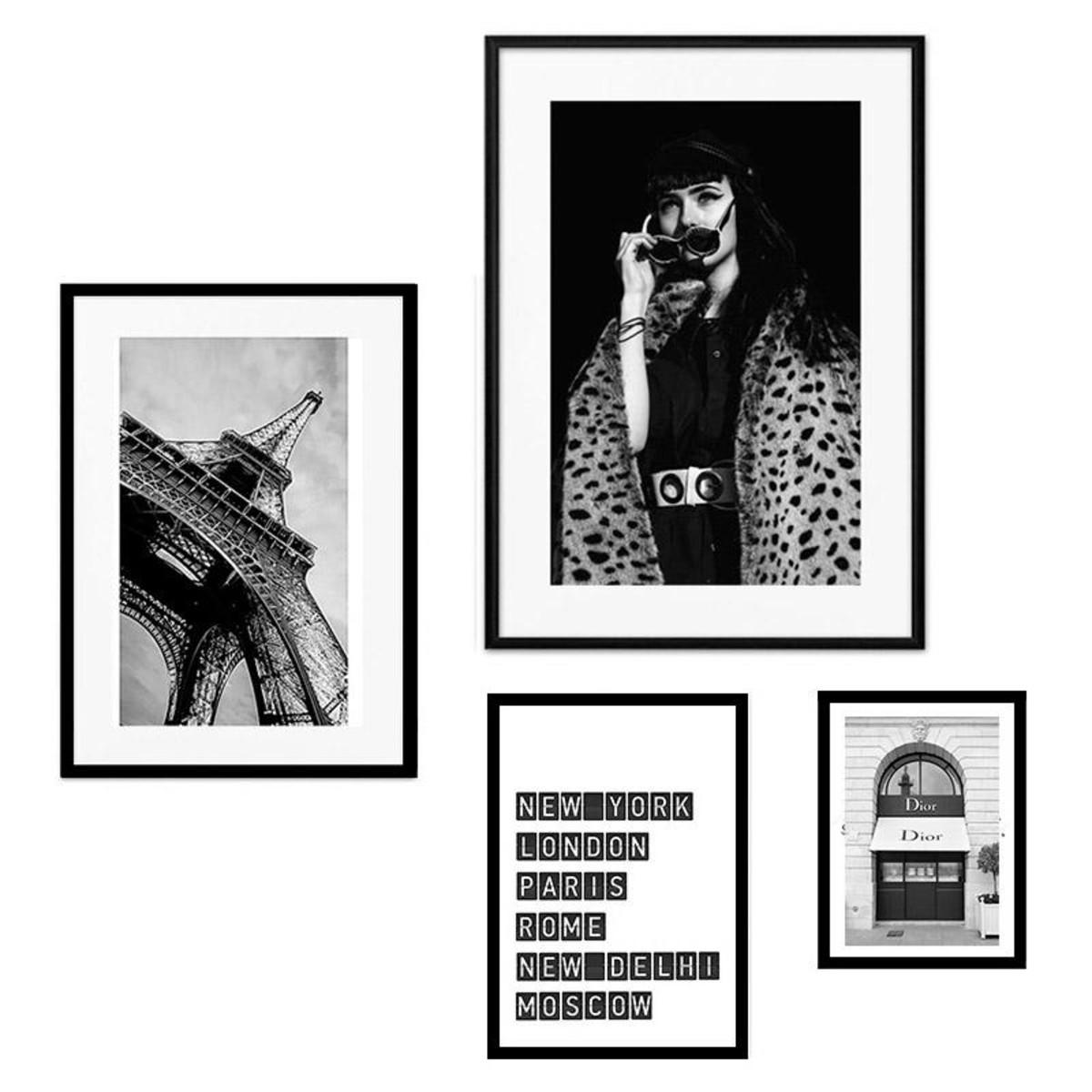 Набор постеров Дом Корлеоне Коллаж Fashion №102 08-0742-110х120 50х70 см