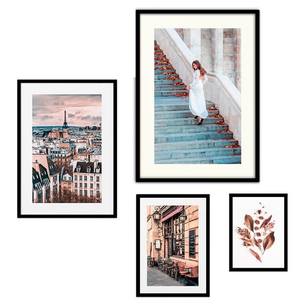 Набор постеров Дом Корлеоне Коллаж Fashion №104 08-0744-110х120 50х70 см