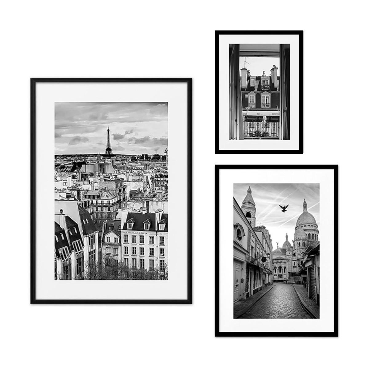 Набор постеров Дом Корлеоне Коллаж Париж №33 08-0374-80х80 40х60 см