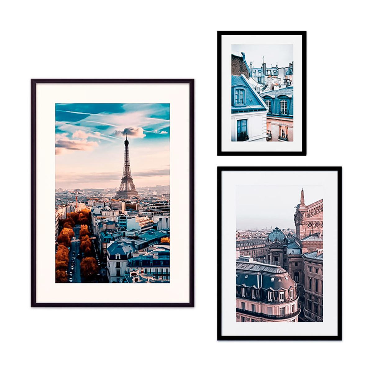 Постер Дом Корлеоне Коллаж Париж №54 08-0395-80х80 40х60 см