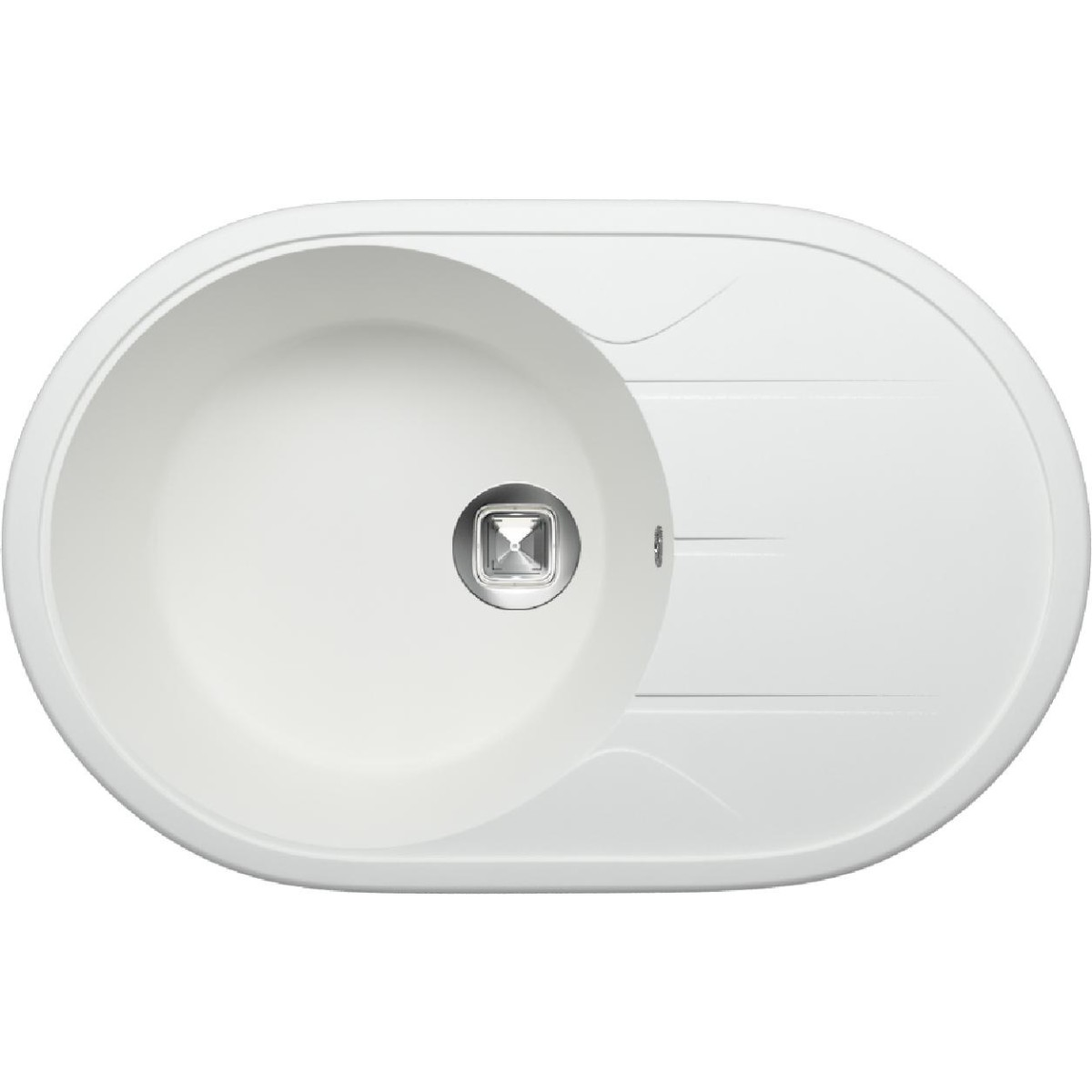 Кухонная мойка TOLERO  R-116 №923 (Белый)