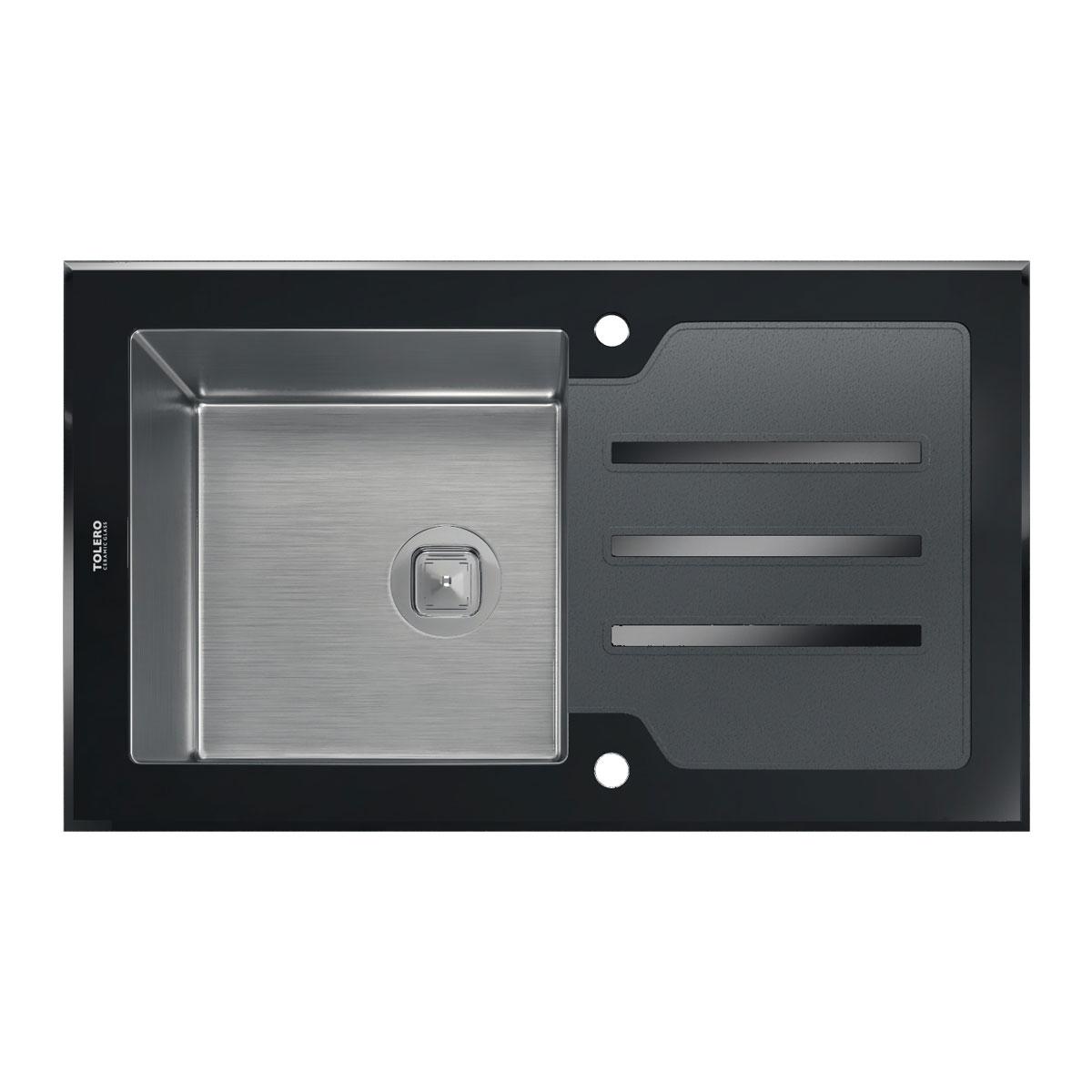 Кухонная мойка TOLERO  TG-860 Черная