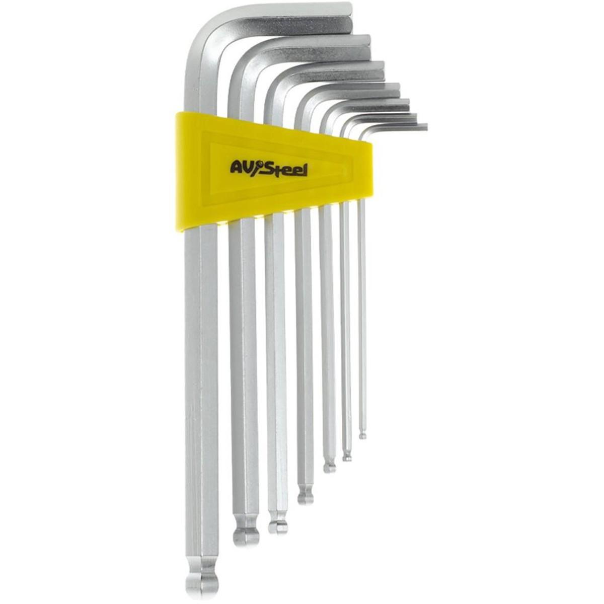 Набор ключей Г-образныхAV Steel AV-365107