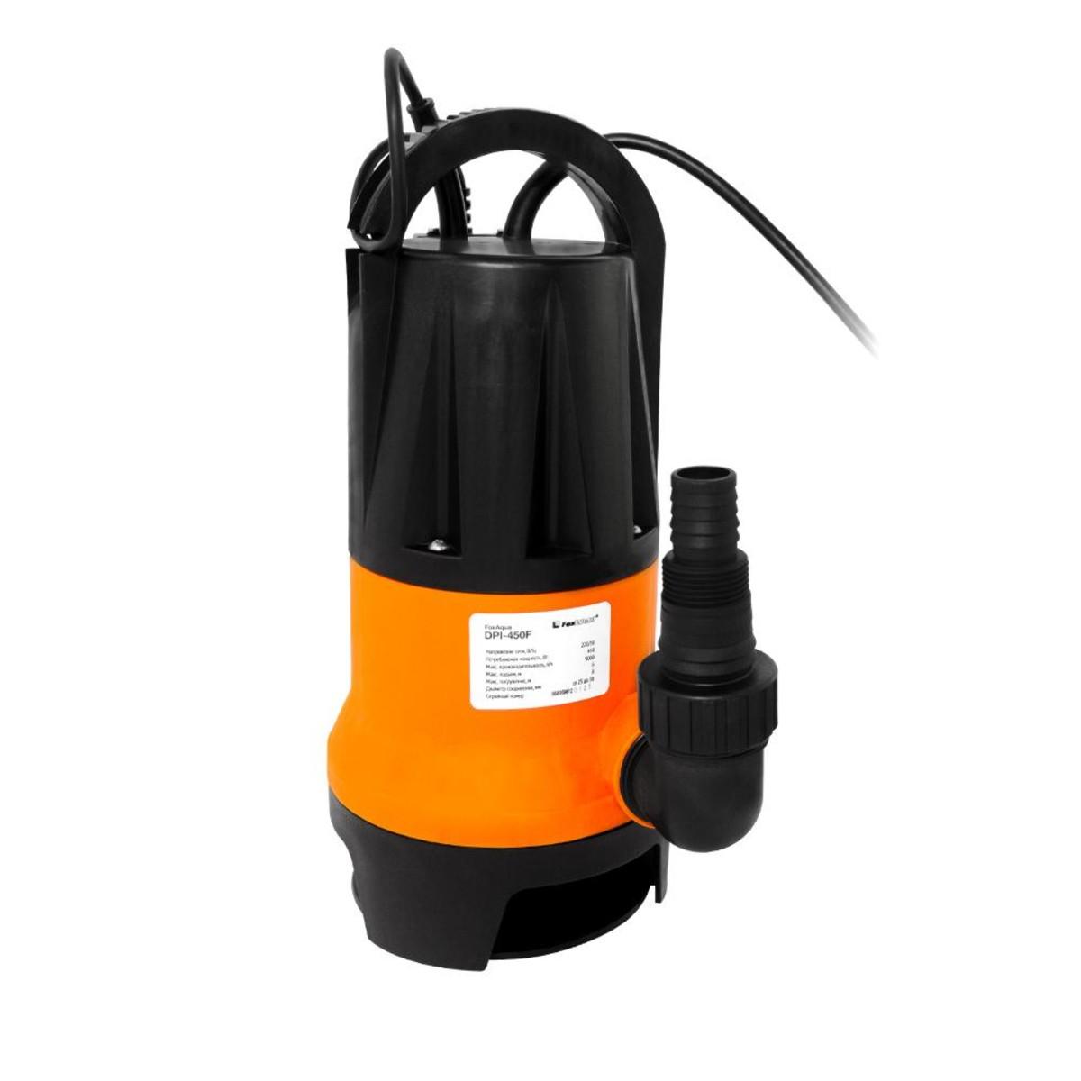 Дренажный насос FoxAqua DPI-450F