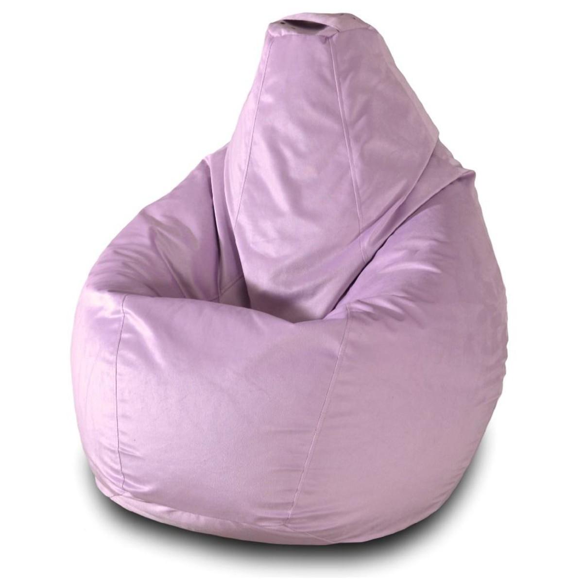 Кресло-груша Пазитифчик Сиреневый 02 110х85 см