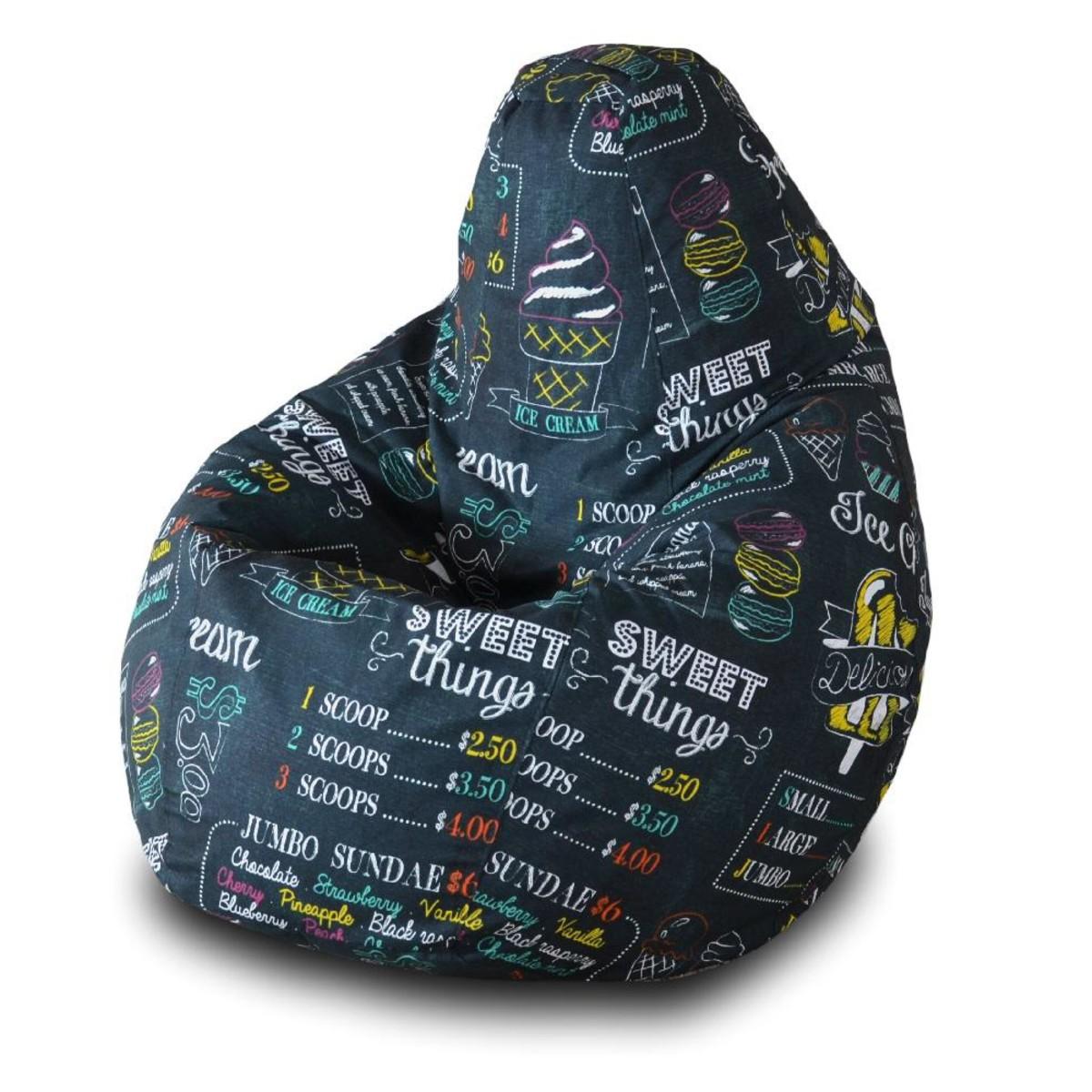 Кресло-груша Пазитифчик Qw04 145х100 см