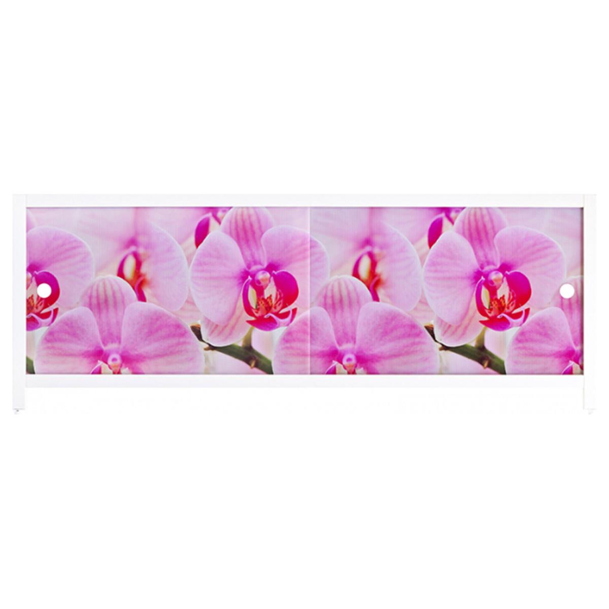 Экран под ванну Метакам Ультра Лёгкий АРТ Дикая орхидея 168м