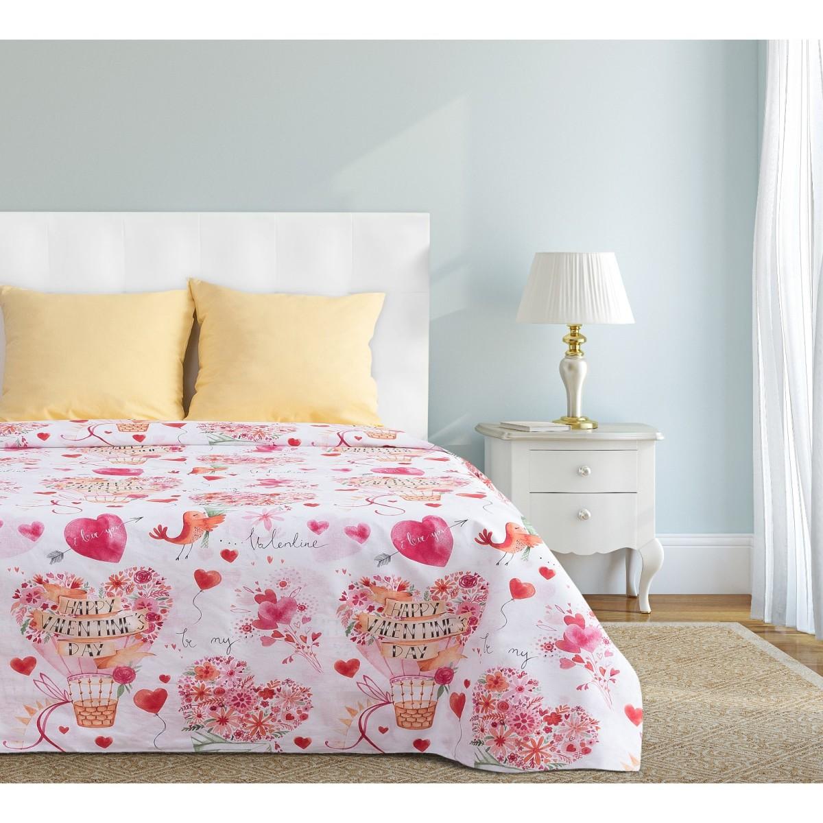 Комплект Постельного Белья Семейный Этель Valentine&#39s Day 4484447 Бязь