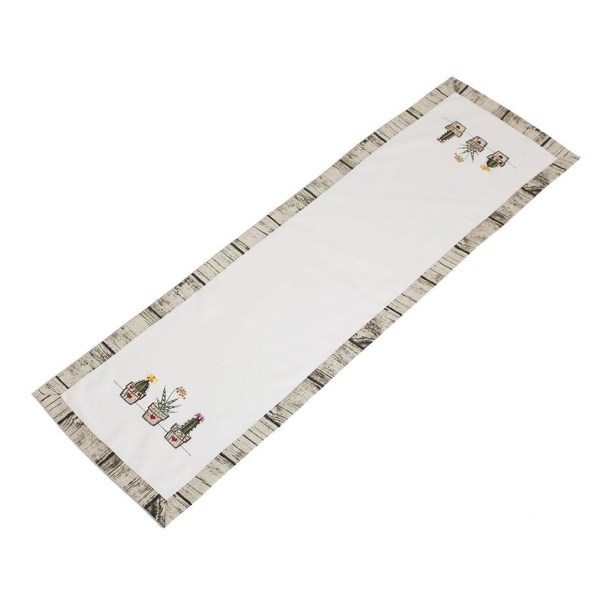 Дорожка на стол Хит-декор Кактусы 05771 140х40 см