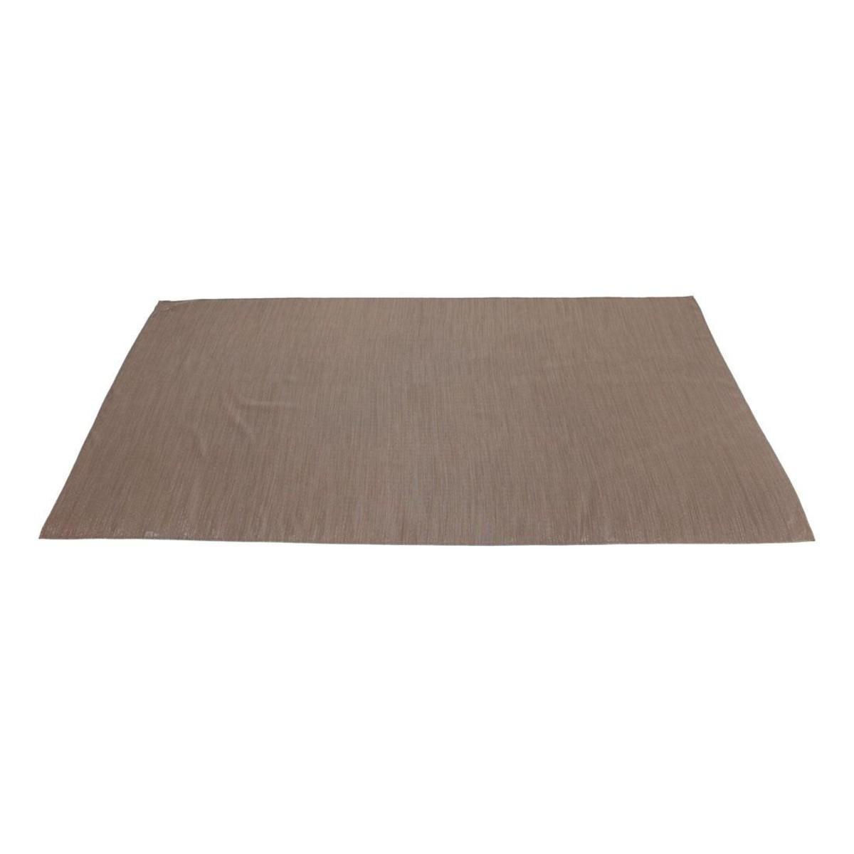 Дорожка на стол Хит-декор Блестящая коричневая 06500 150х40 см