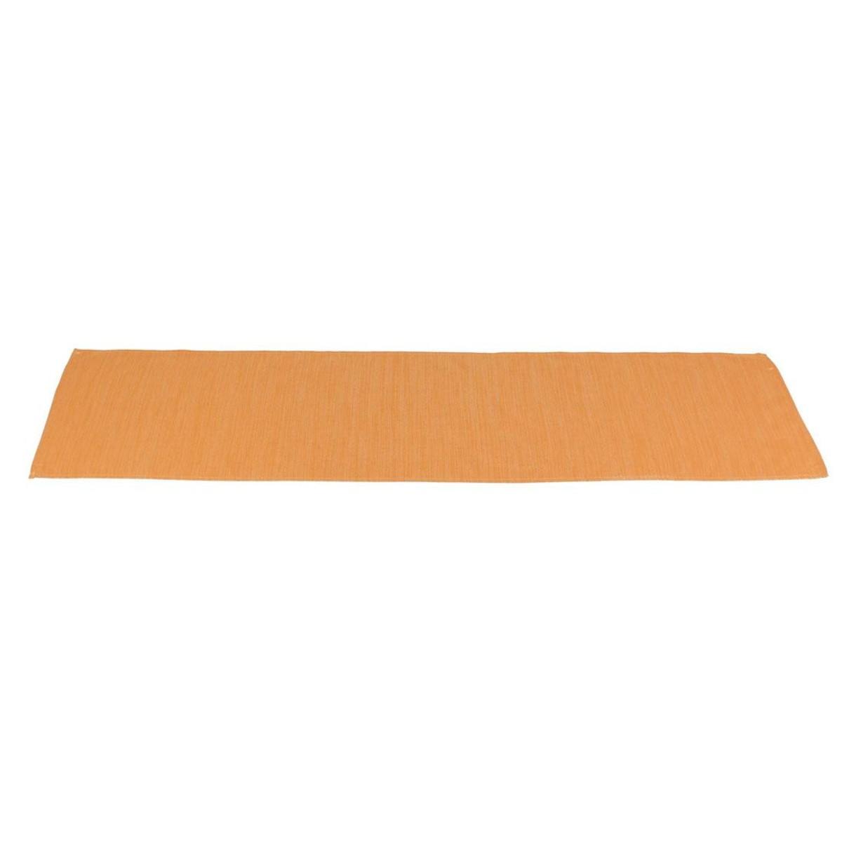 Дорожка на стол Хит-декор Блестящая оранжевая 06501 150х40 см
