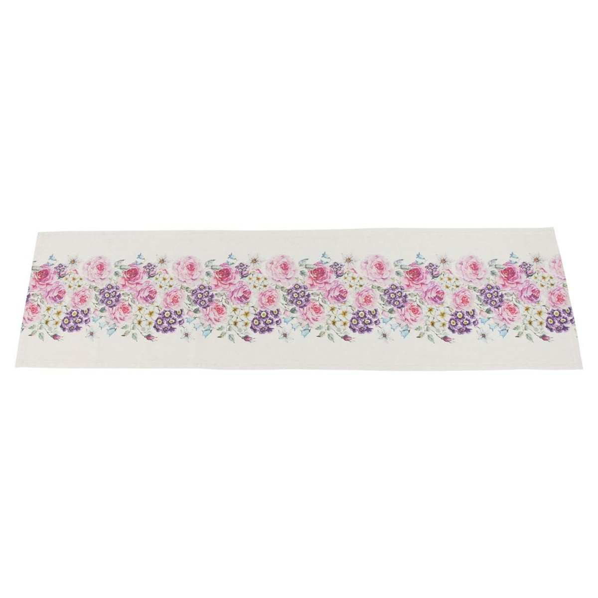 Дорожка на стол Хит-декор Букет цветов 07437 85х85 см