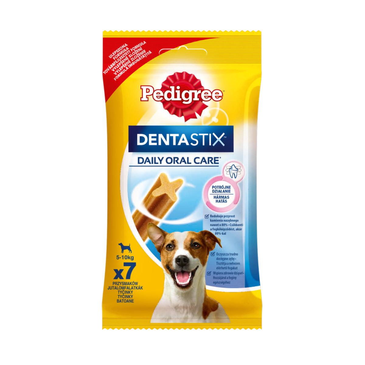 Лакомство для собак мелких пород Pedigree DentaStix 110г