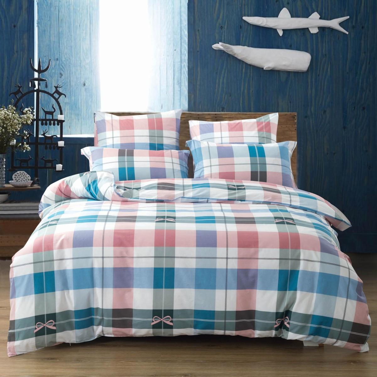 Комплект постельного белья семейный Сайлид A-204-4 поплин