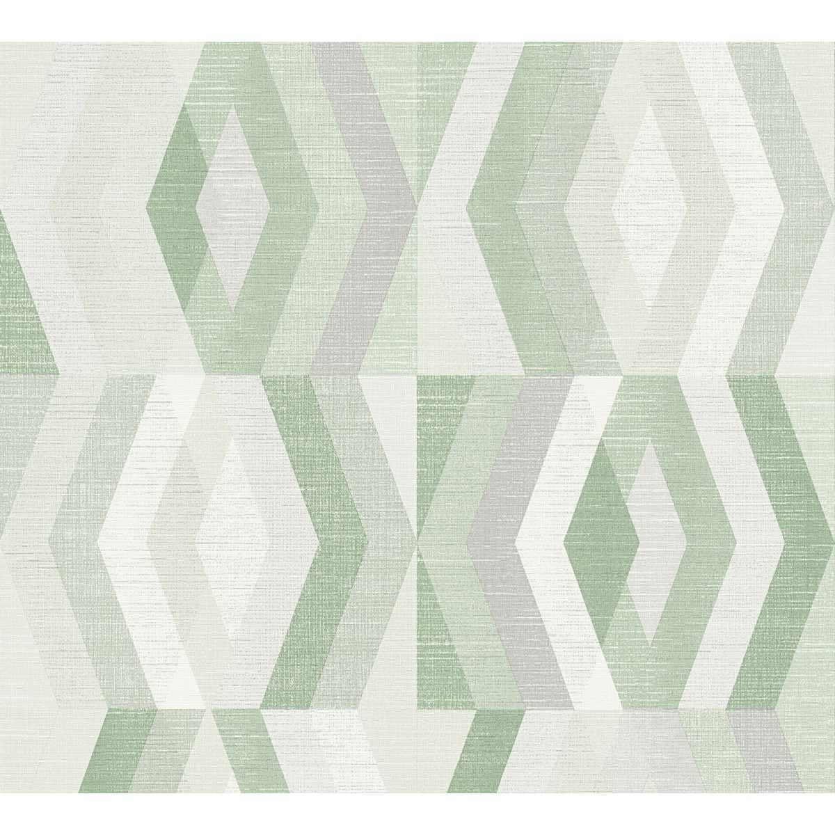 Обои флизелиновые A.S. Création Tapeten Ag Geo Nordic зеленые 375335 0.53 м