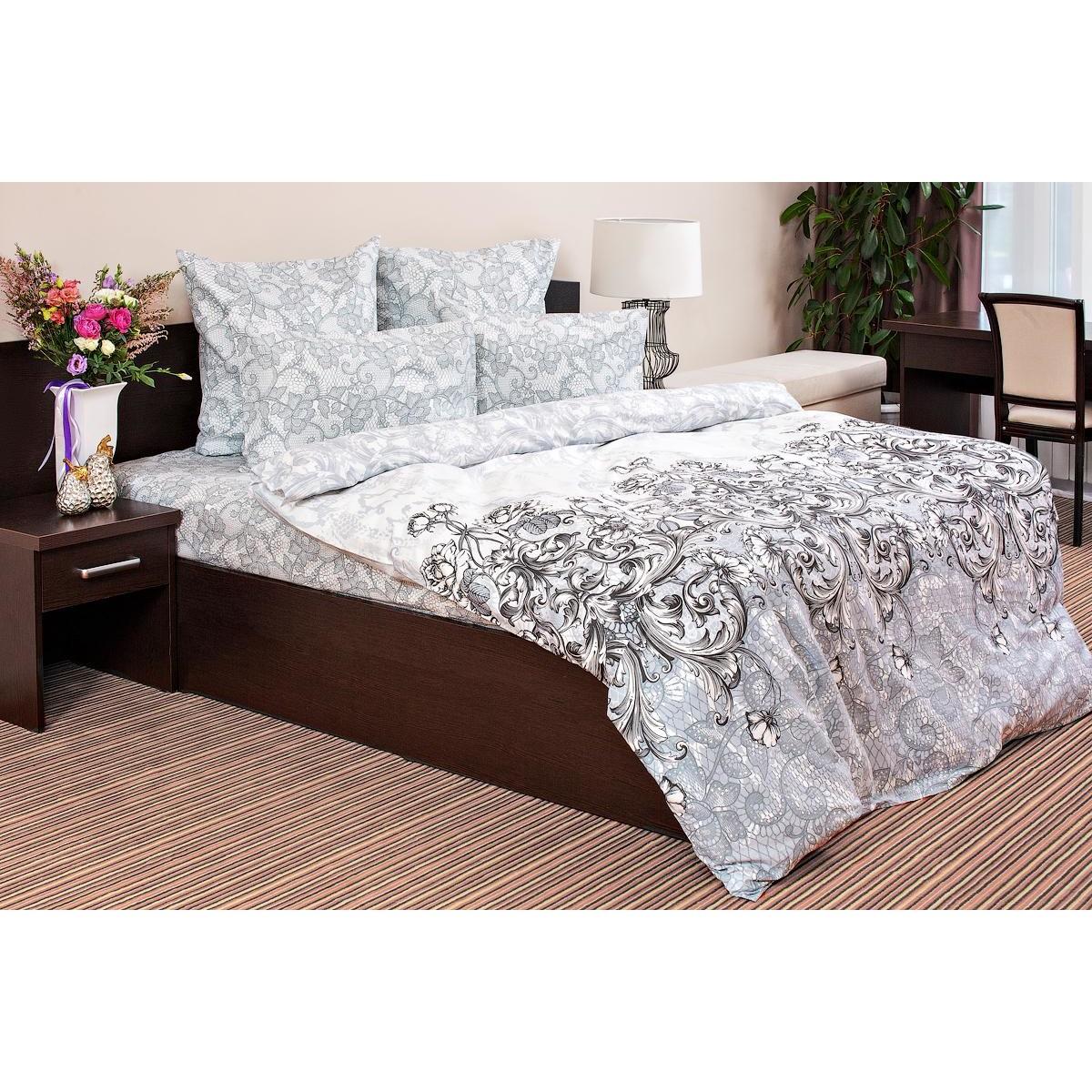 Комплект постельного белья семейный Ночь Нежна Primula nnj485428 сатин