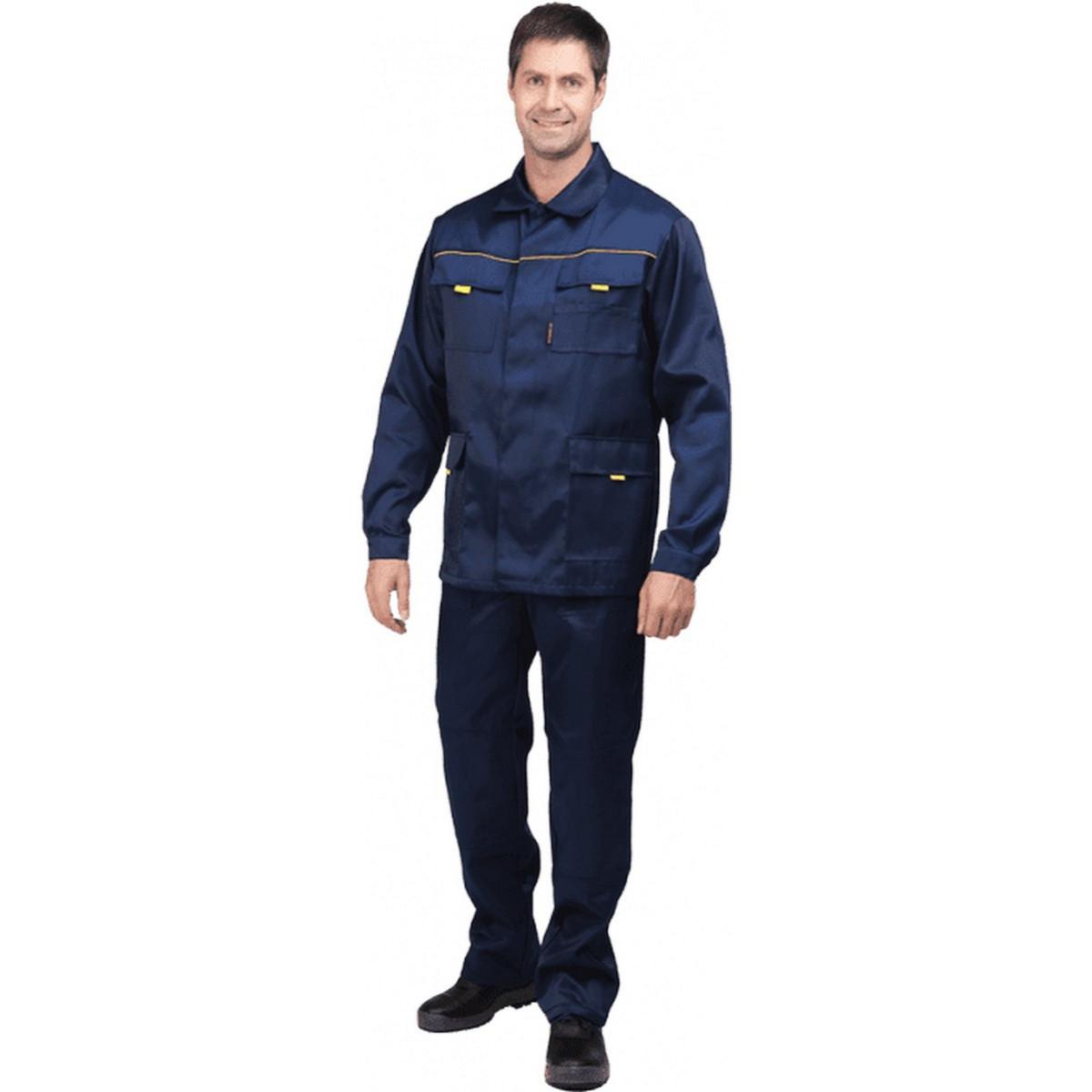 Костюм ВЫМПЕЛ-2 т/синий (куртка+п/к)  (разм. 120-124 рост 170-176)