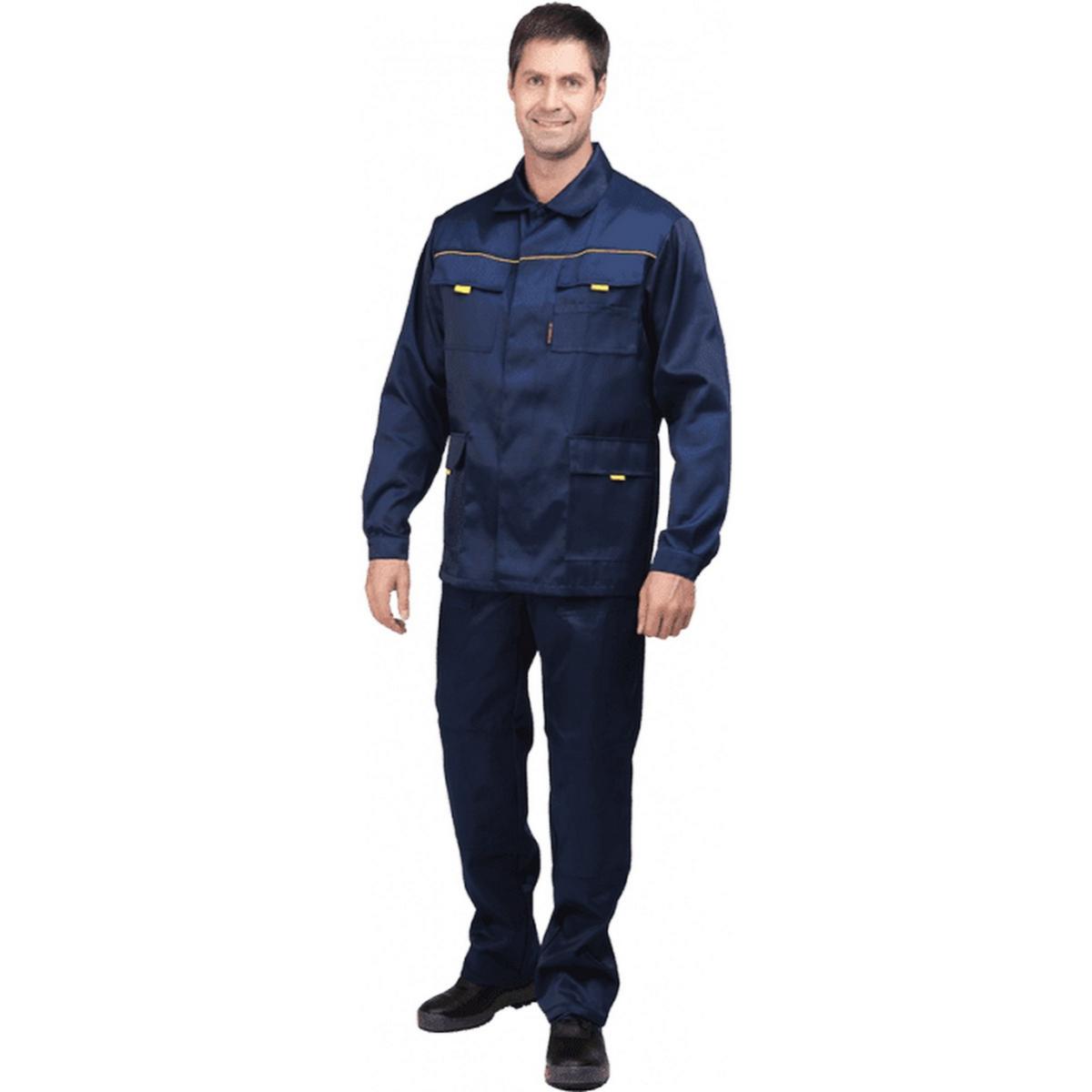 Костюм ВЫМПЕЛ-2 т/синий (куртка+п/к)  (разм. 120-124 рост 182-188)