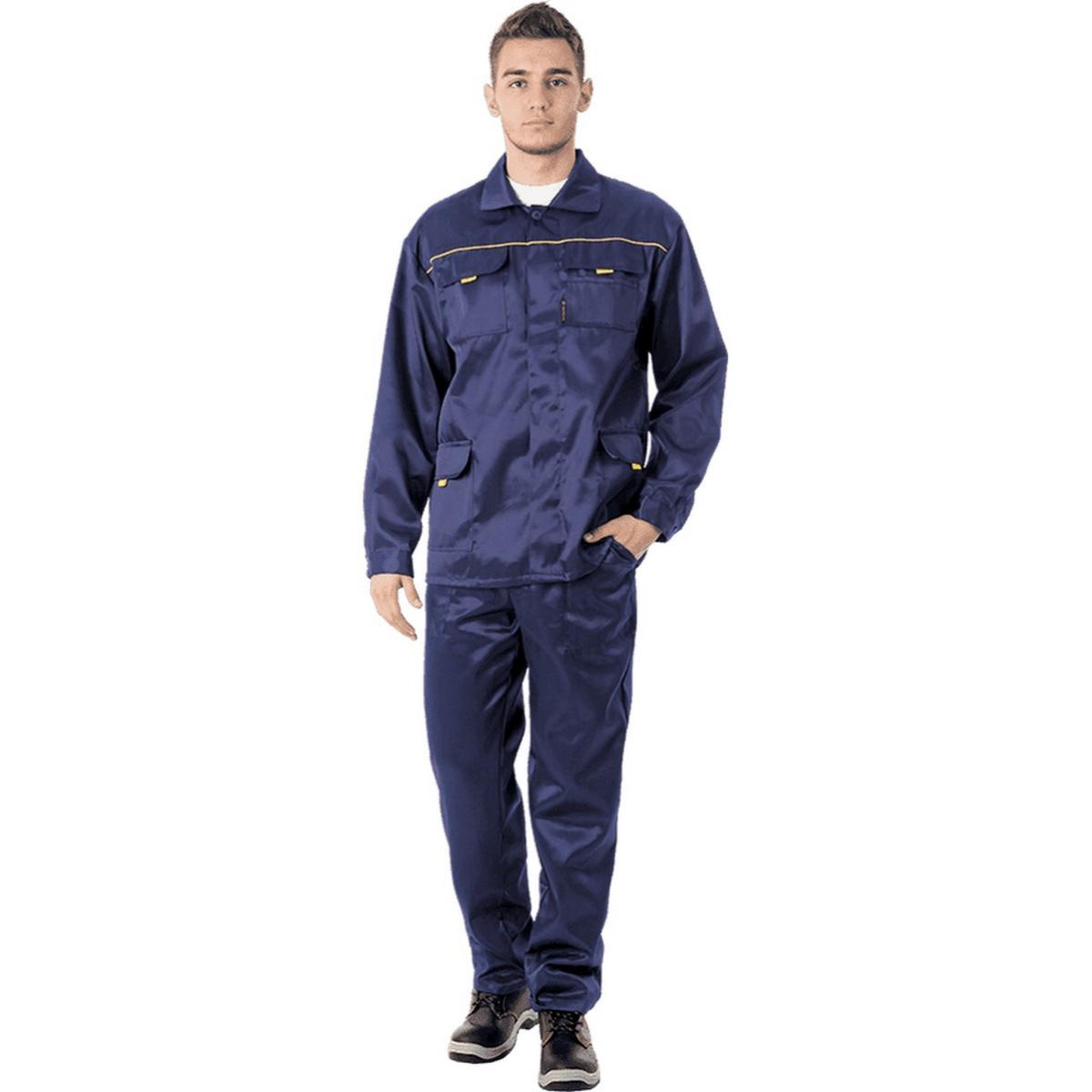 Костюм ВЫМПЕЛ-1 т/синий (куртка+брюки)  (разм. 120-124 рост 170-176)