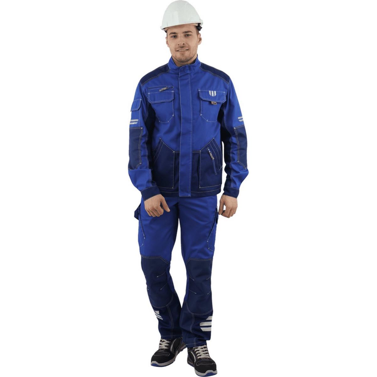 Куртка ЭДВАНС василек-синий (разм. 104-108 рост 170-176)