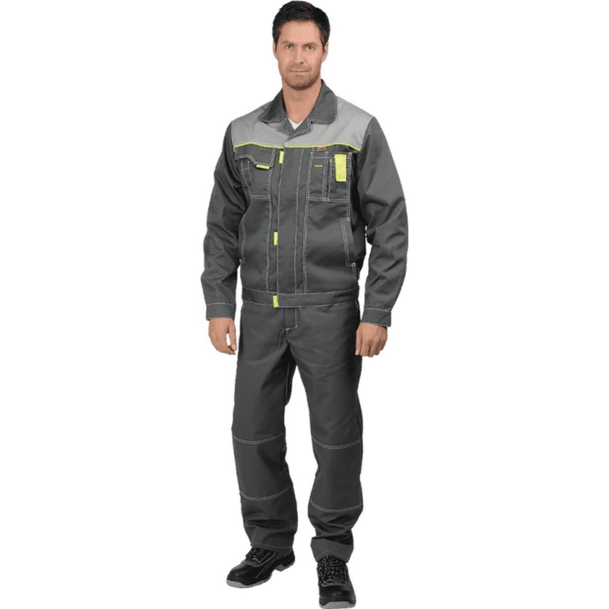 Куртка ТУРБО серая (разм. 88-92 рост 170-176)