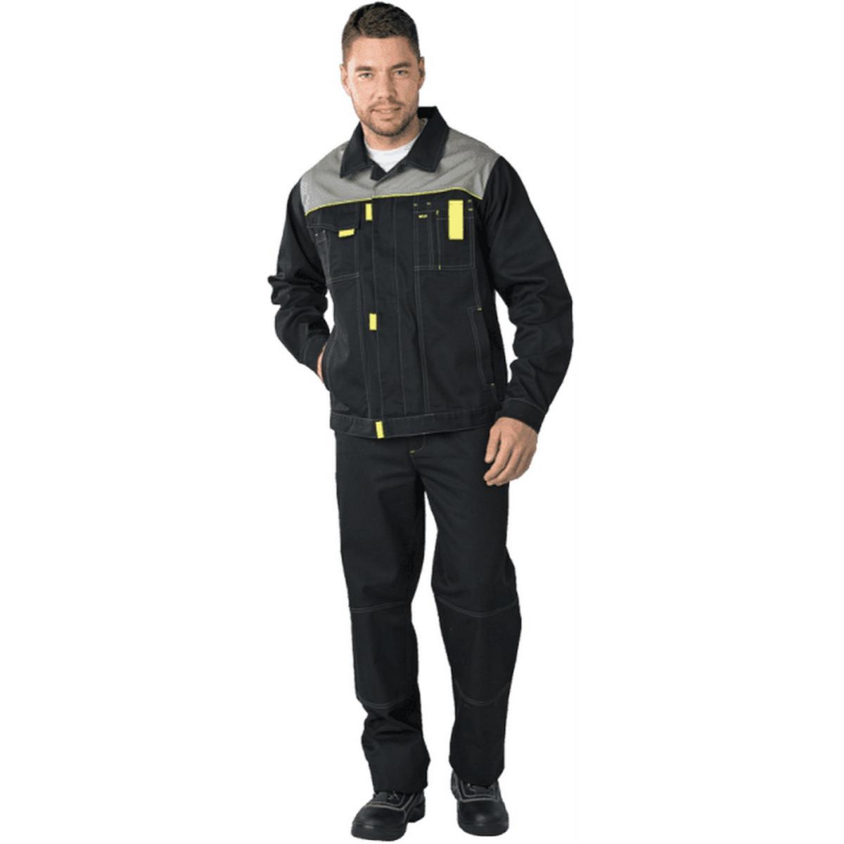 Куртка ТУРБО черная (разм. 104-108 рост 182-188)