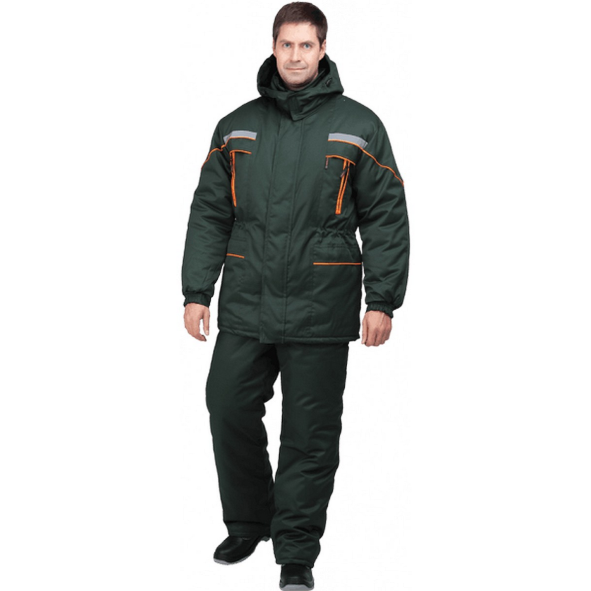 Куртка ЛАНДШАФТ утепленная зеленый (разм. 88-92 рост 170-176)