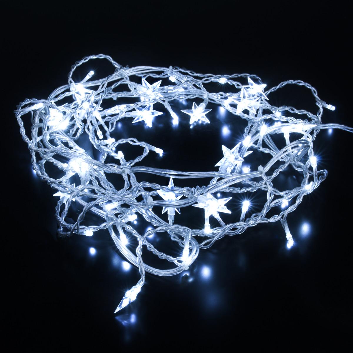 Гирлянда Eurosvet 100-002 белый 64 лампочки