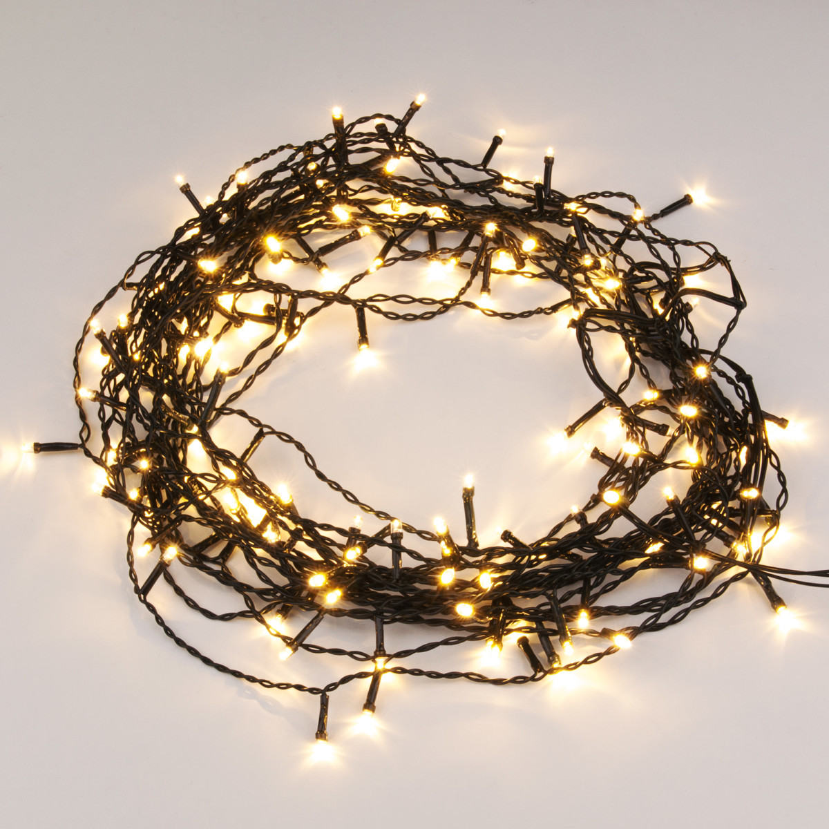 Гирлянда Eurosvet 200-003 теплый белый 150 лампочек