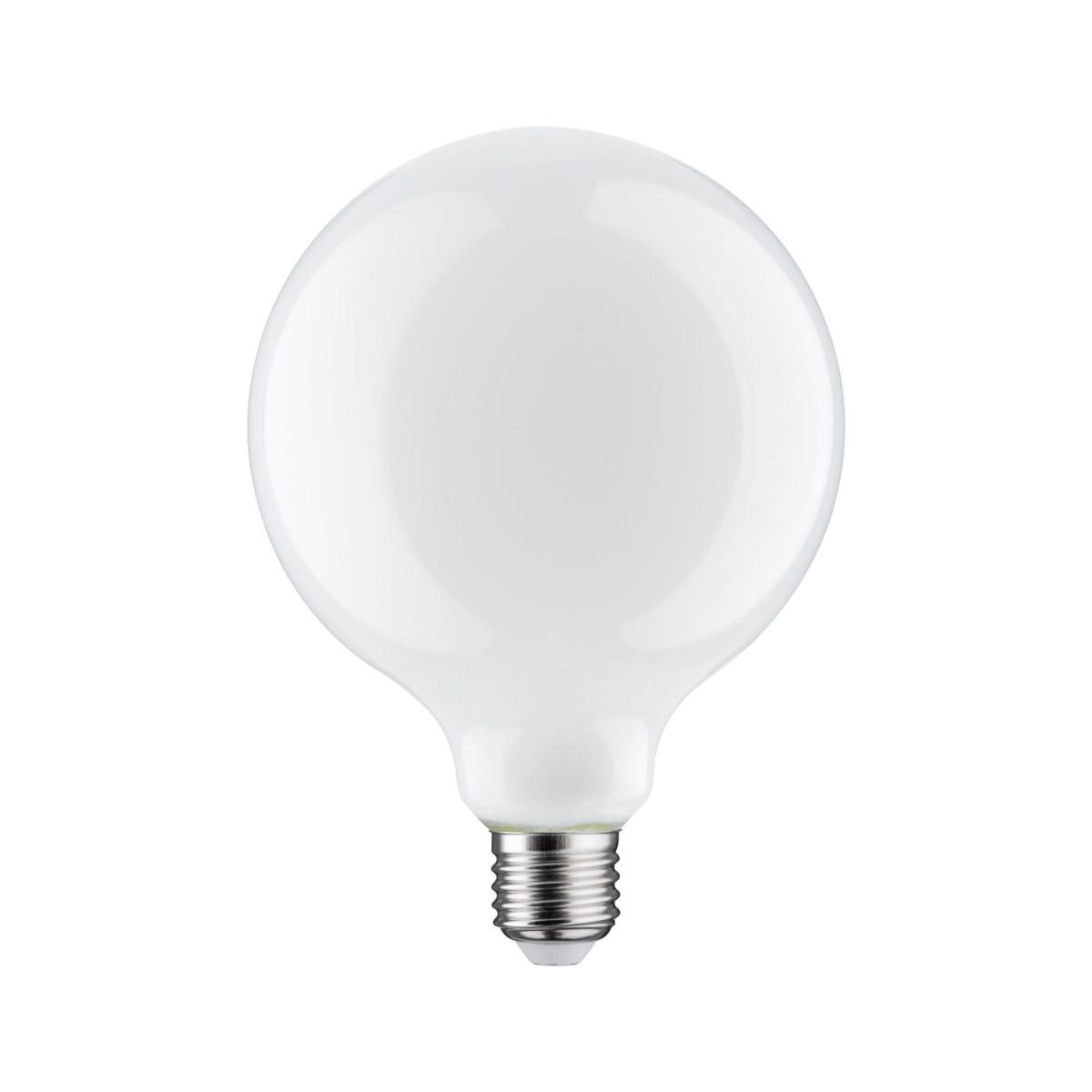 Лампа филаментная Paulmann Ретро Шар G120 6Вт 806лм 2700К Е27 230В Опал Регулируемая яркость 28484.