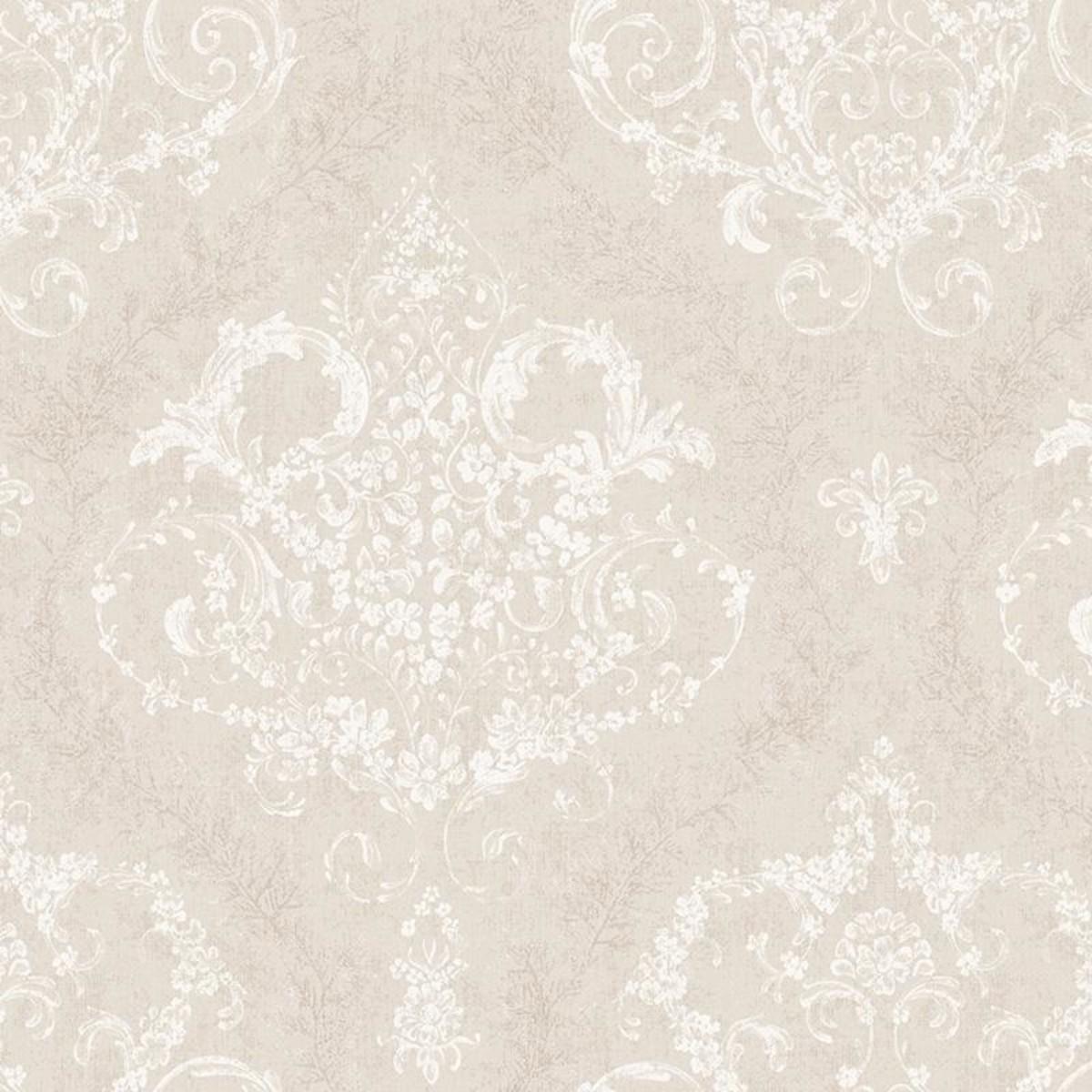 Обои флизелиновые Мир Романс серые 45-323-04 1.06 м