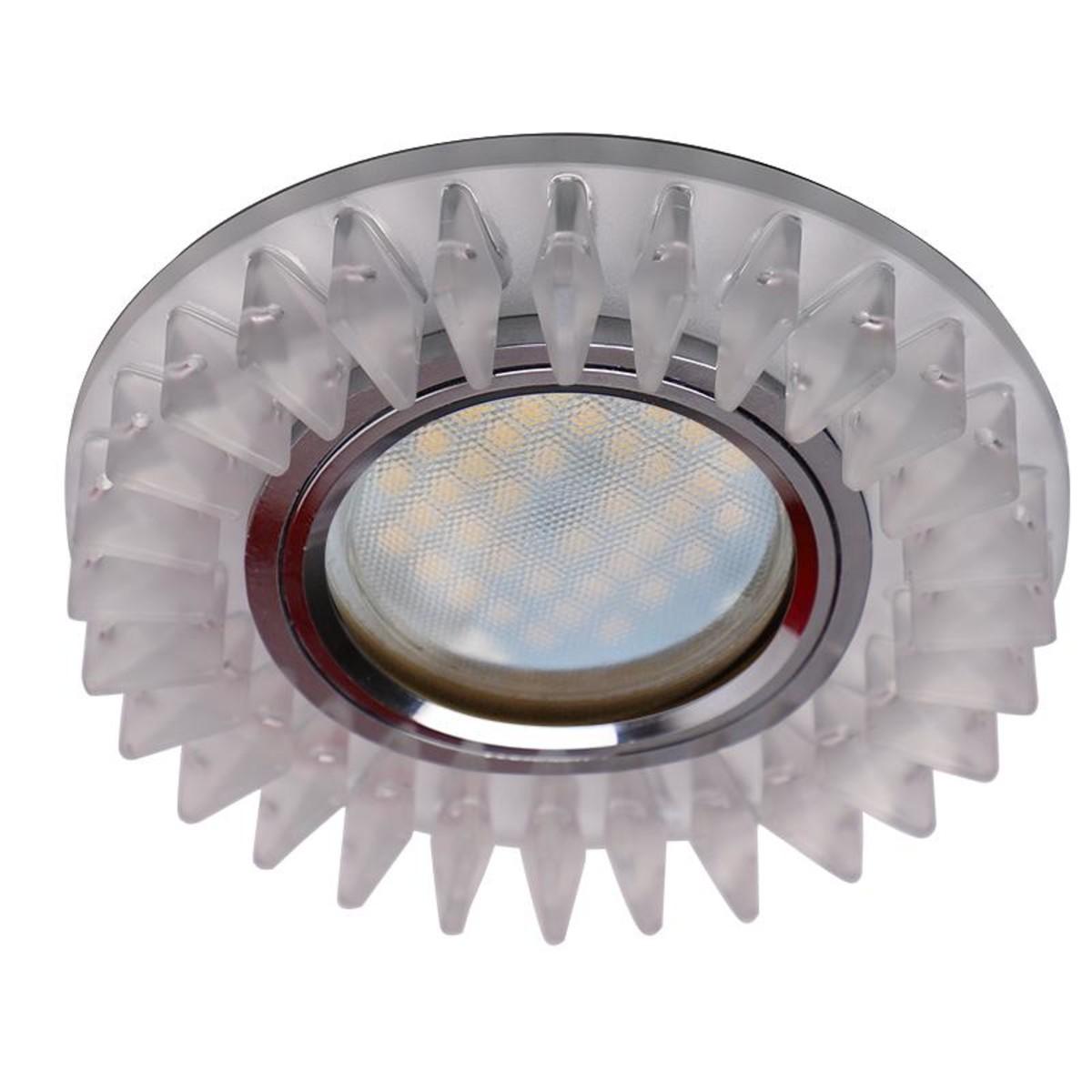 Светильник точечный  Ecola LD1661 SN16RCEFB
