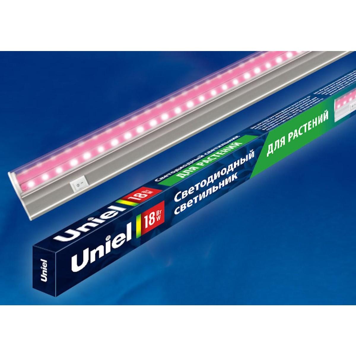 Бра светодиодный Uniel  UL-00002992 Нейтральный свет цвет прозрачный
