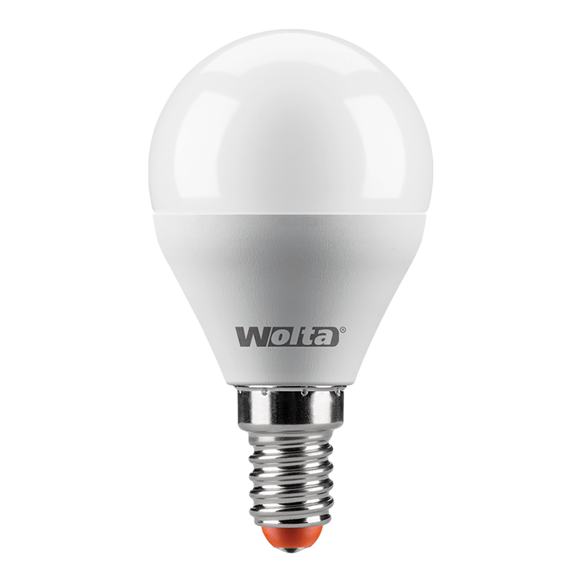 Лампа светодиодная Wolta шар E14 8 Вт 800 Лм свет тёплый белый