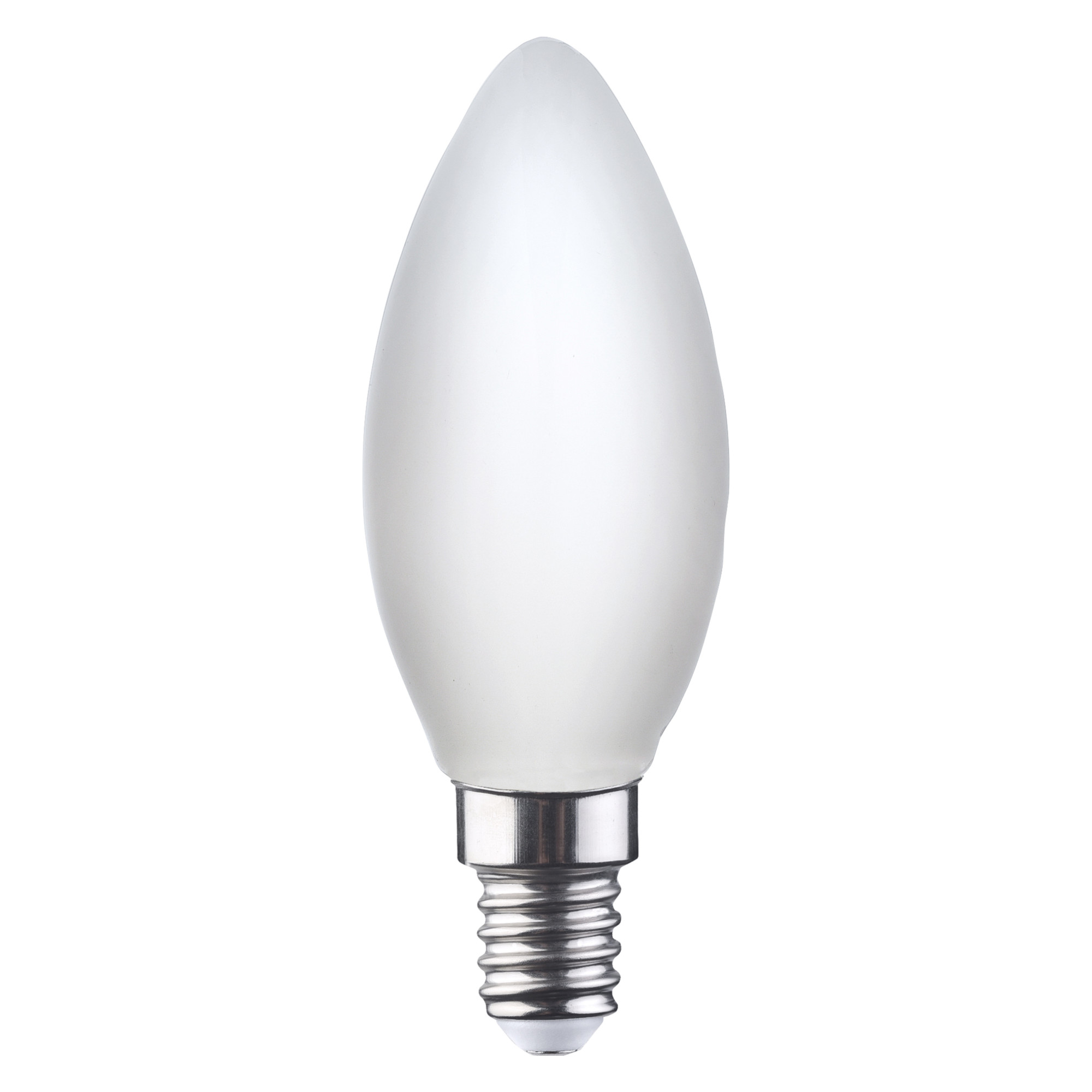 Лампа светодиодная Lexman «Свеча» E14 4.5 Вт 470 Лм свет тёплый белый