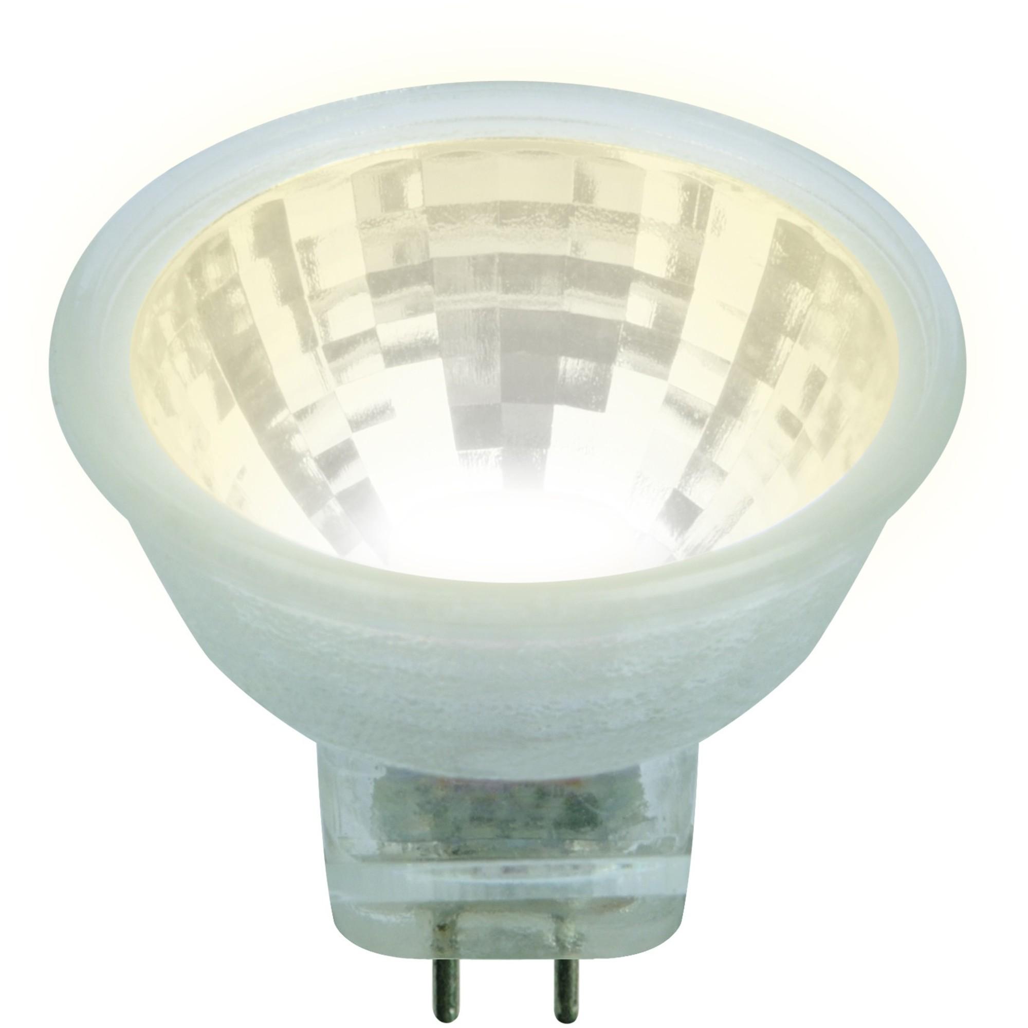 Лампа светодиодная Uniel GU4 3 Вт 200 Лм свет тёплый белый