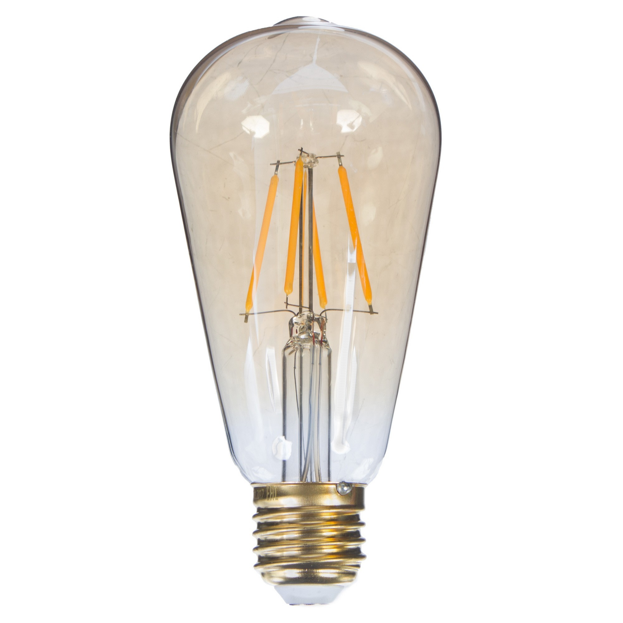 Лампа светодиодная Uniel Vintage конус E27 5 Вт 450 Лм свет тёплый белый