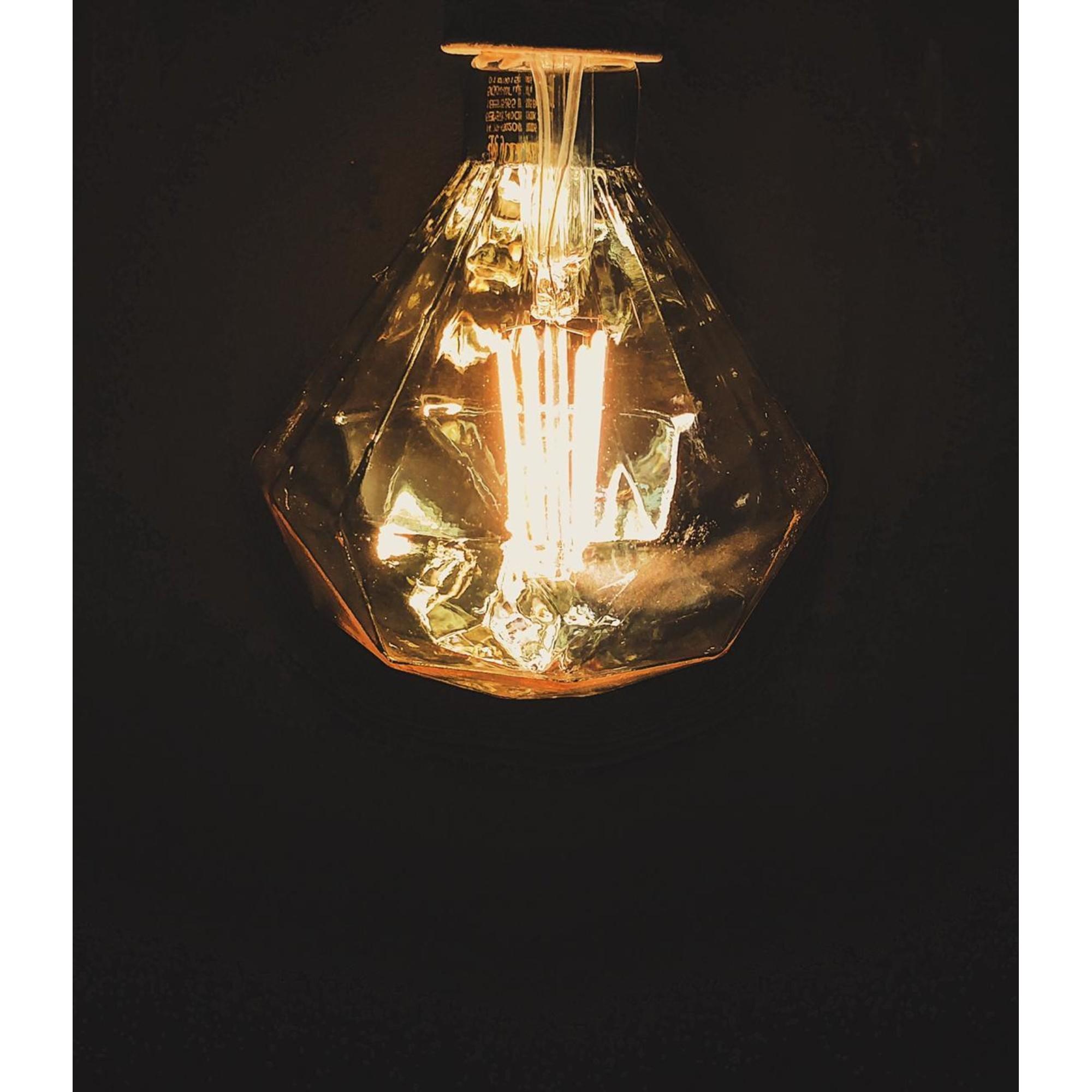 Лампа светодиодная Gauss Filament Diamond E27 5 Вт 450 Лм свет тёплый белый