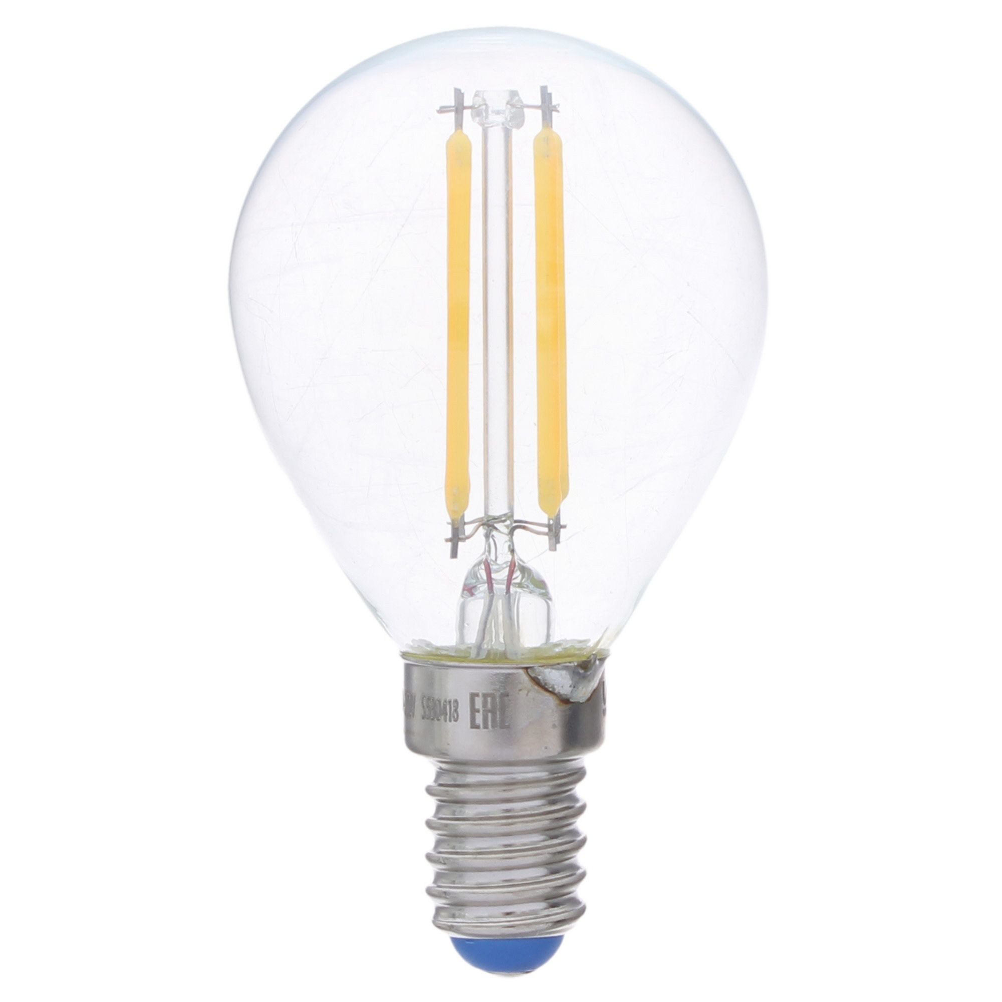 Лампа светодиодная филаментная Airdim форма шар E14 5 Вт 500 Лм свет тёплый