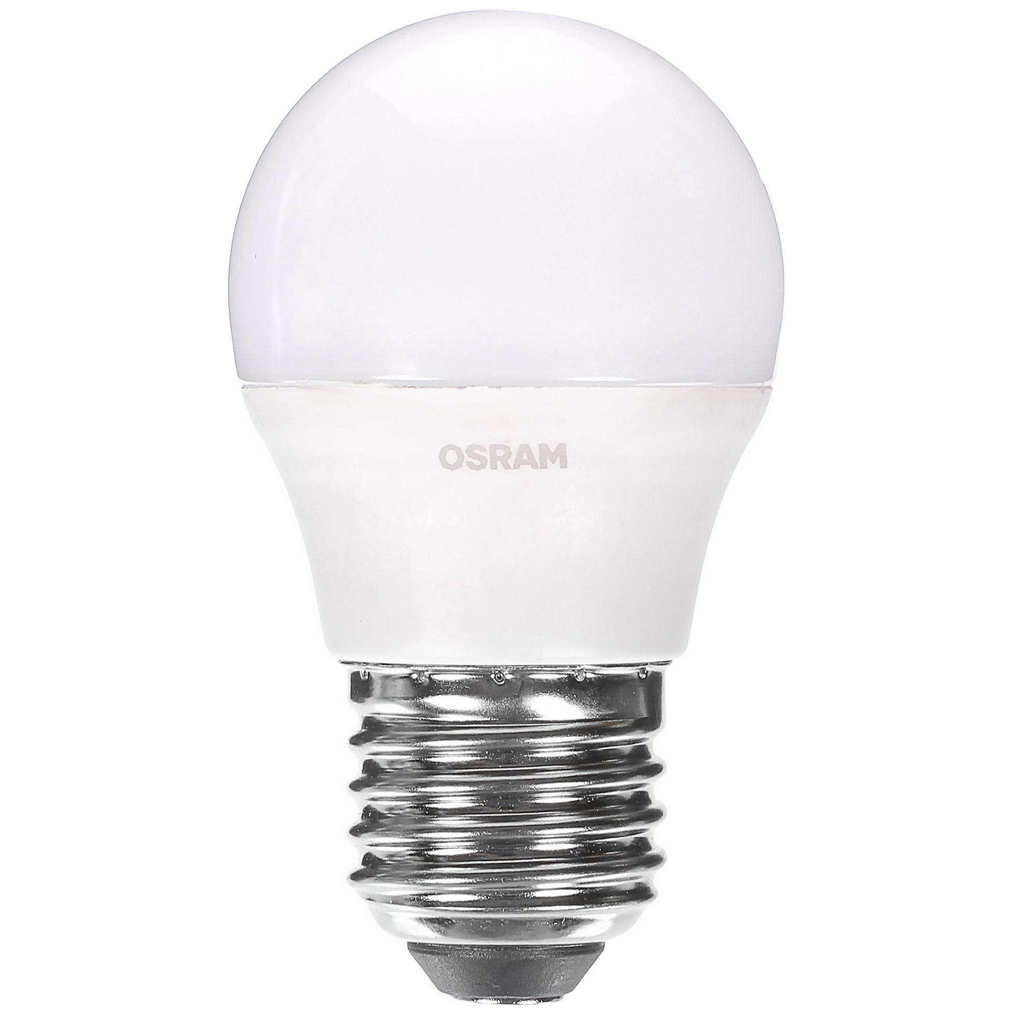 Лампа светодиодная Osram «Шар» E27 6.5 Вт 550 Лм свет холодный белый