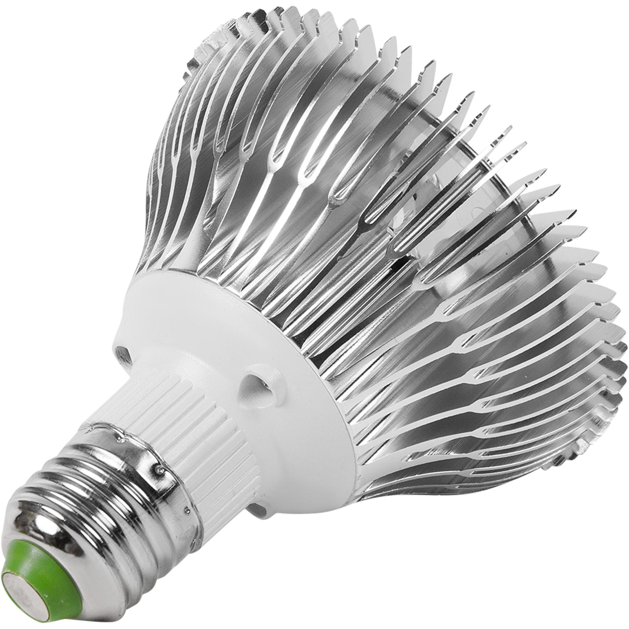 Лампа светодиодная для цветов и зелени E27 7 Вт красно-белый спектр