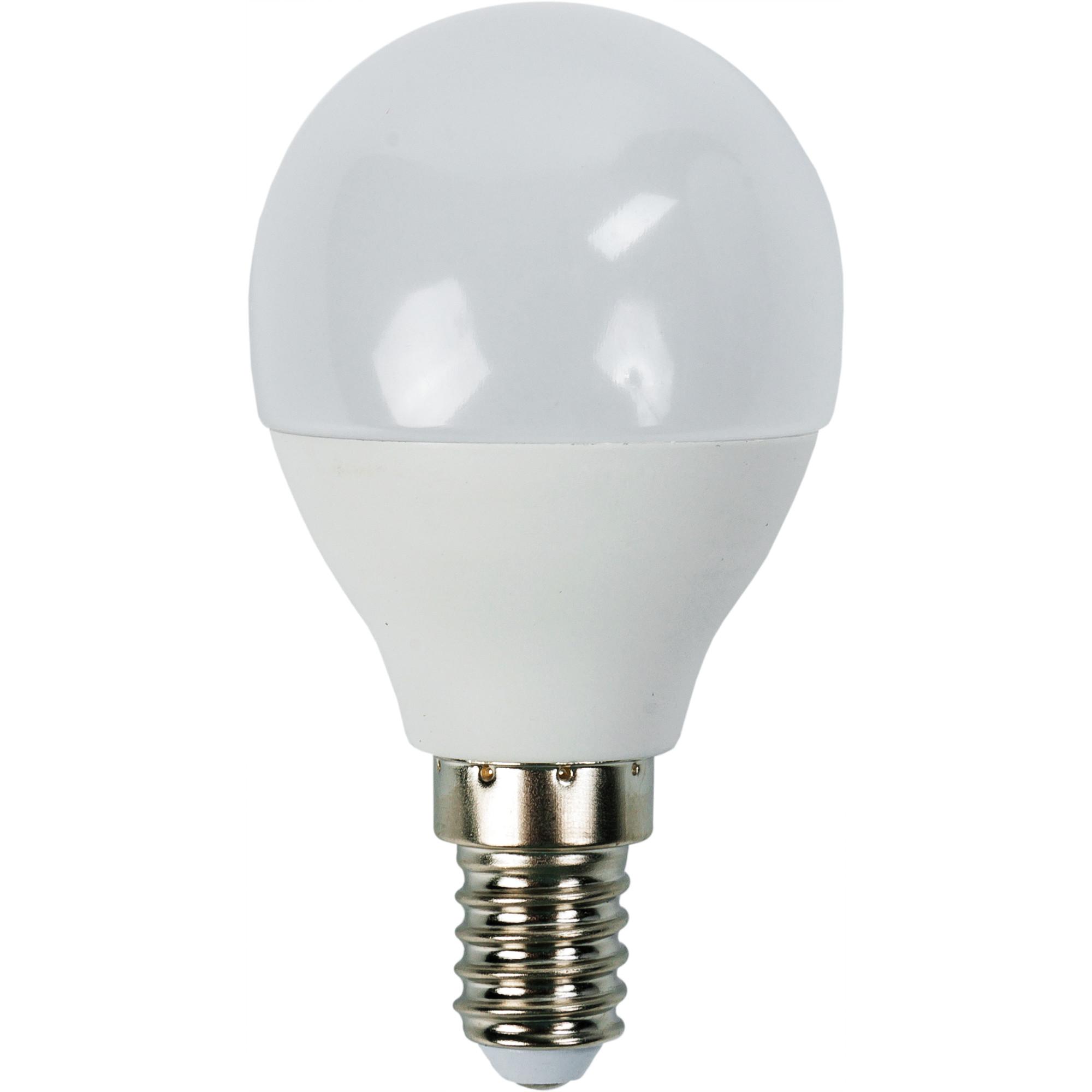 Лампа светодиодная Bellight E14 220-240 В 6 Вт шар 480 лм тёплый белый свет