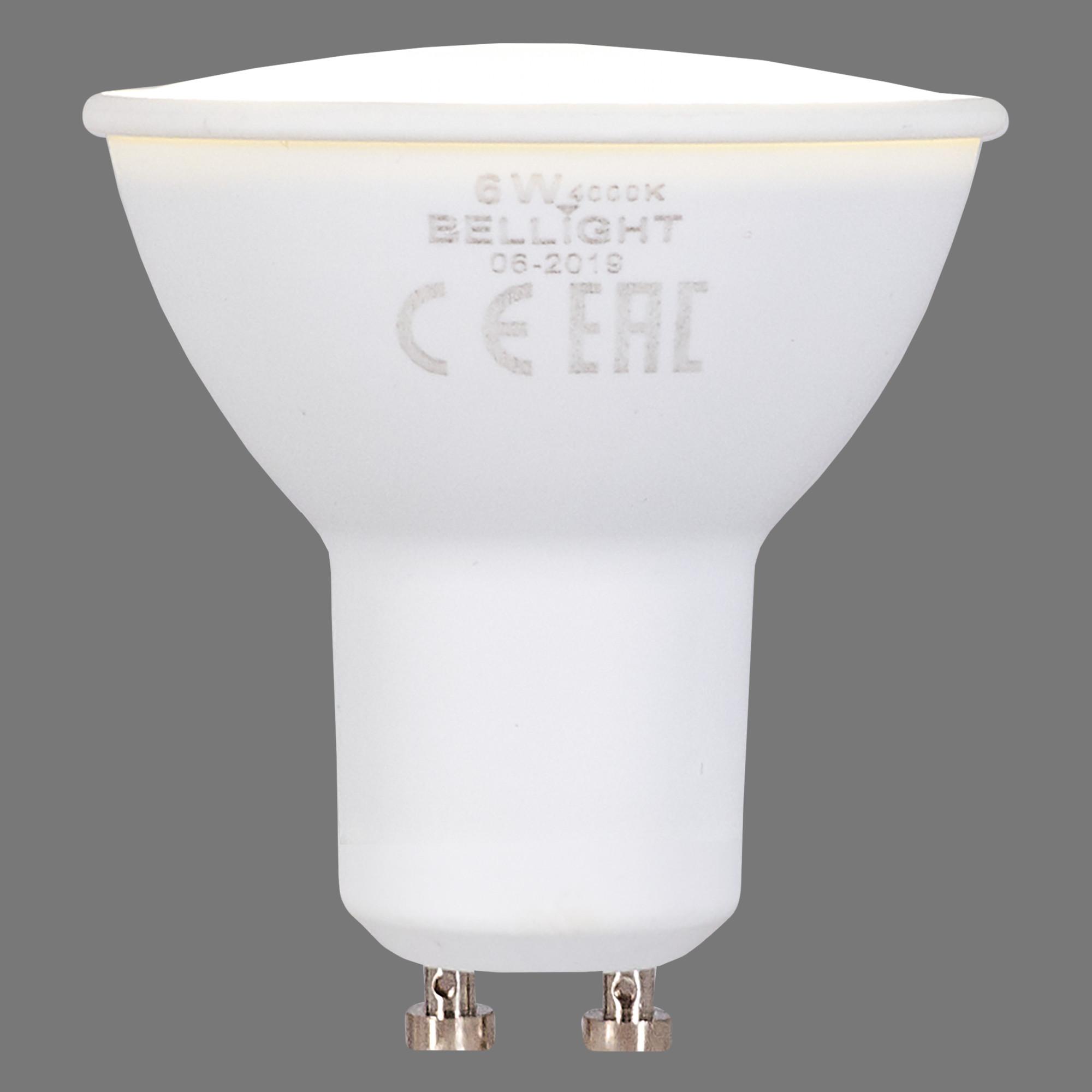 Лампа светодиодная Bellight GU10 220-240 В 6 Вт 420 лм белый свет