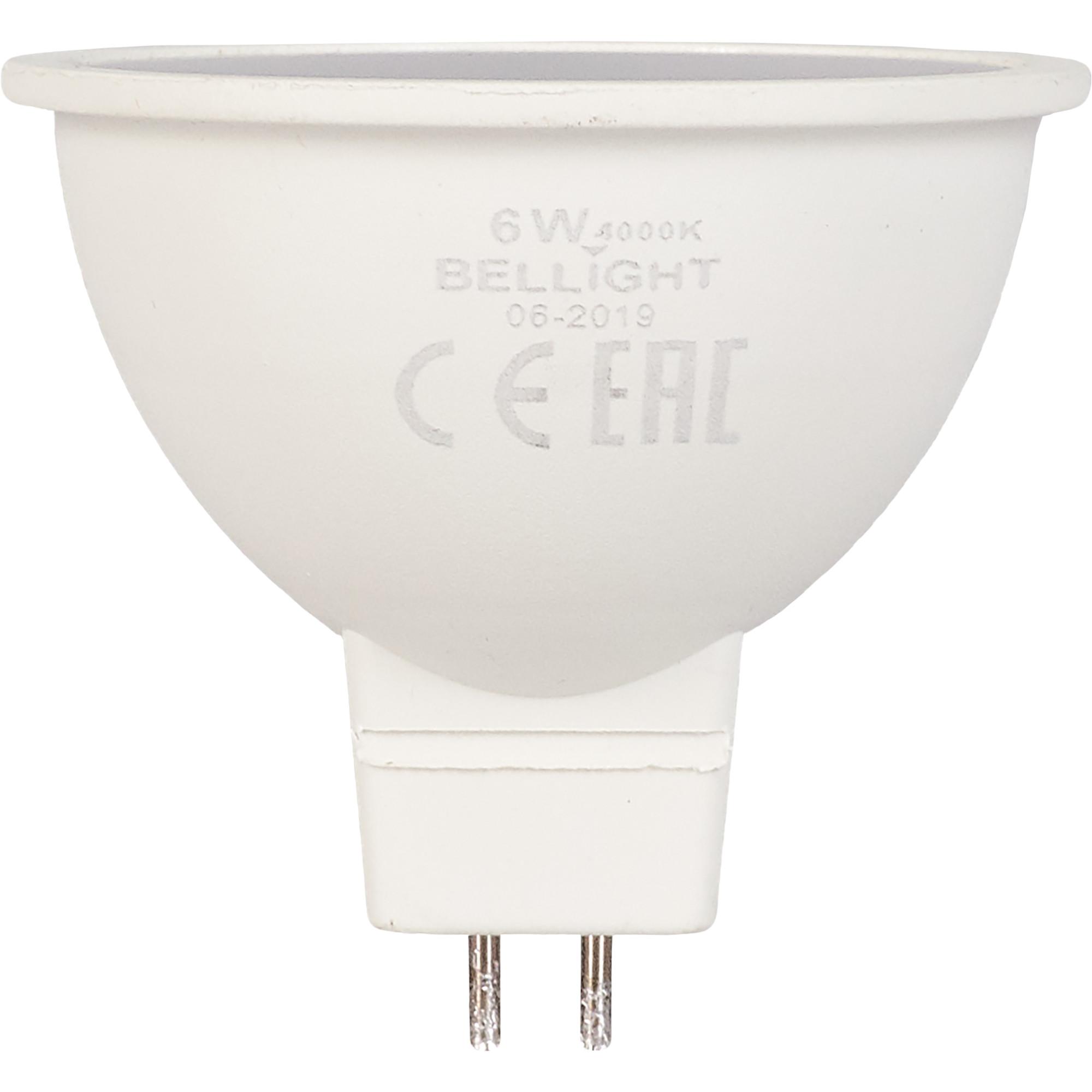 Лампа светодиодная Bellight GU5.3 220-240 В 6 Вт 420 лм белый свет