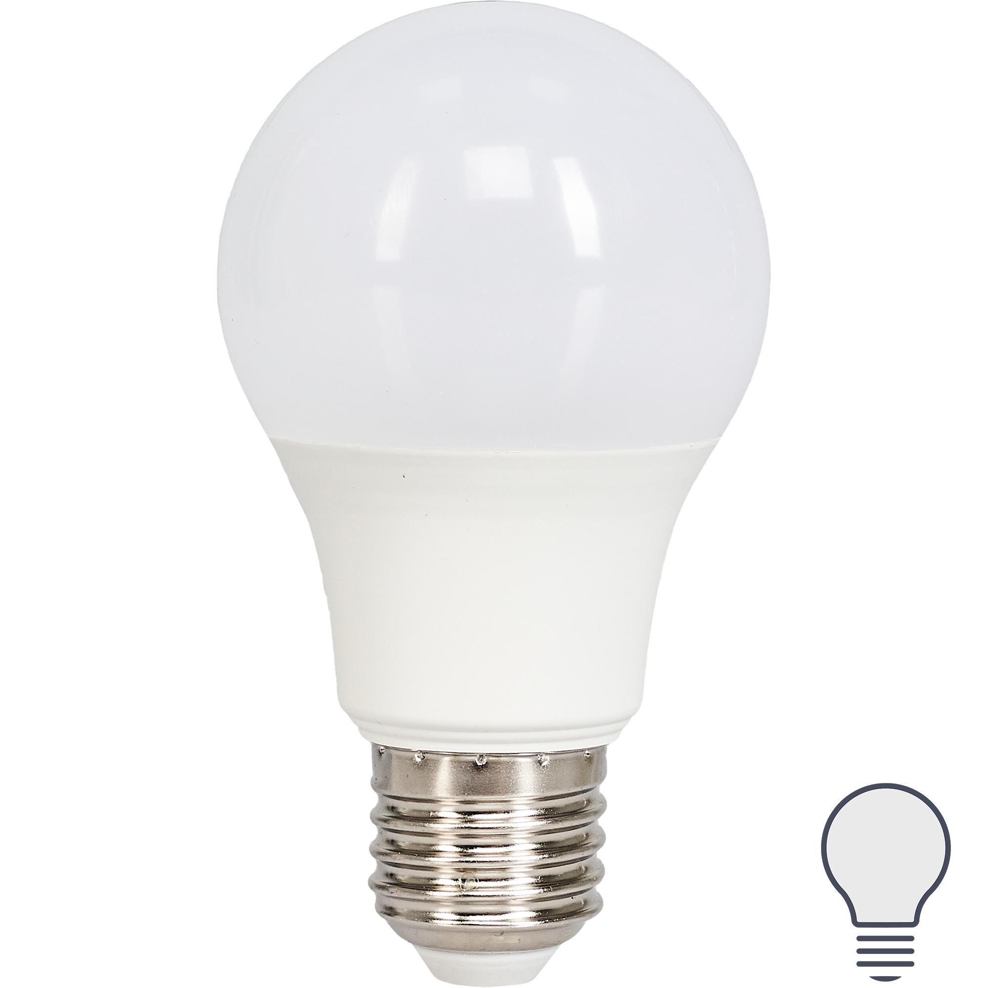 Лампа светодиодная Norma E27 170-240 В 11 Вт груша 900 лм белый свет