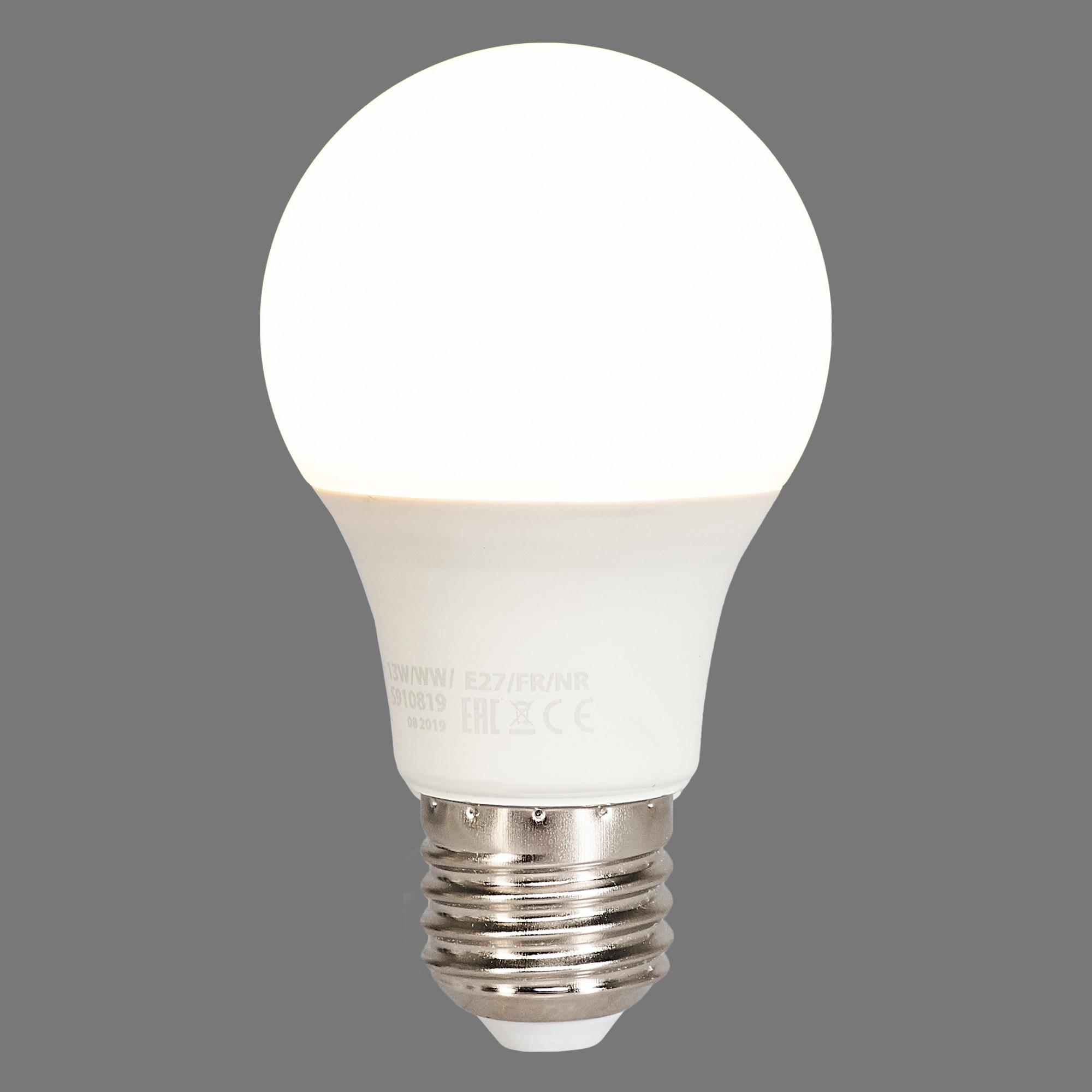 Лампа светодиодная Norma E27 170-240 В 13 Вт груша 1150 лм тёплый белый свет