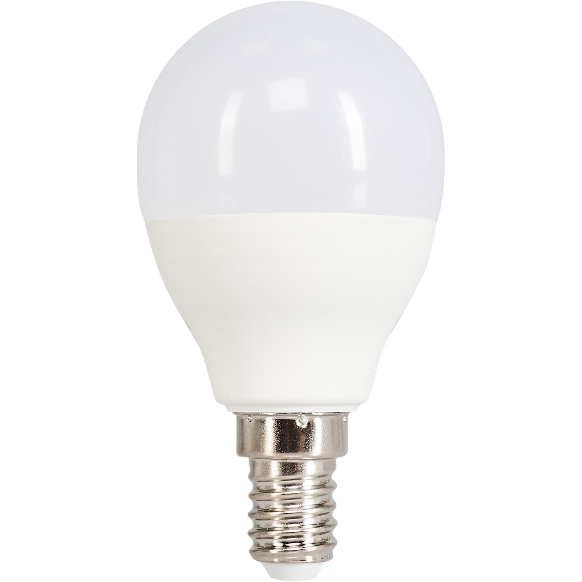 Лампа светодиодная Norma E14 170-240 В 11 Вт шар 900 лм белый свет